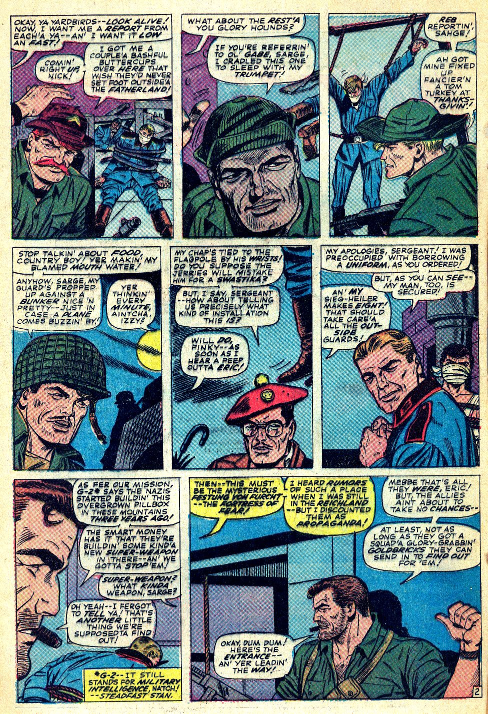 Read online Sgt. Fury comic -  Issue #39 - 4