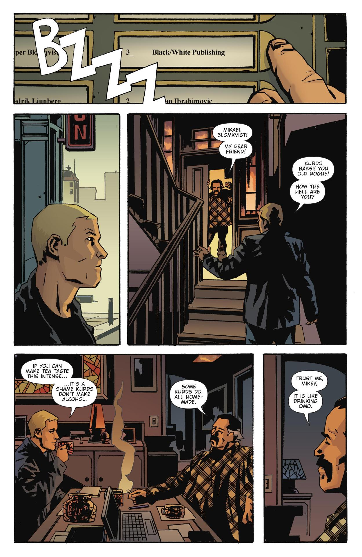 Read online The Girl Who Kicked The Hornet's Nest comic -  Issue # TPB - 135
