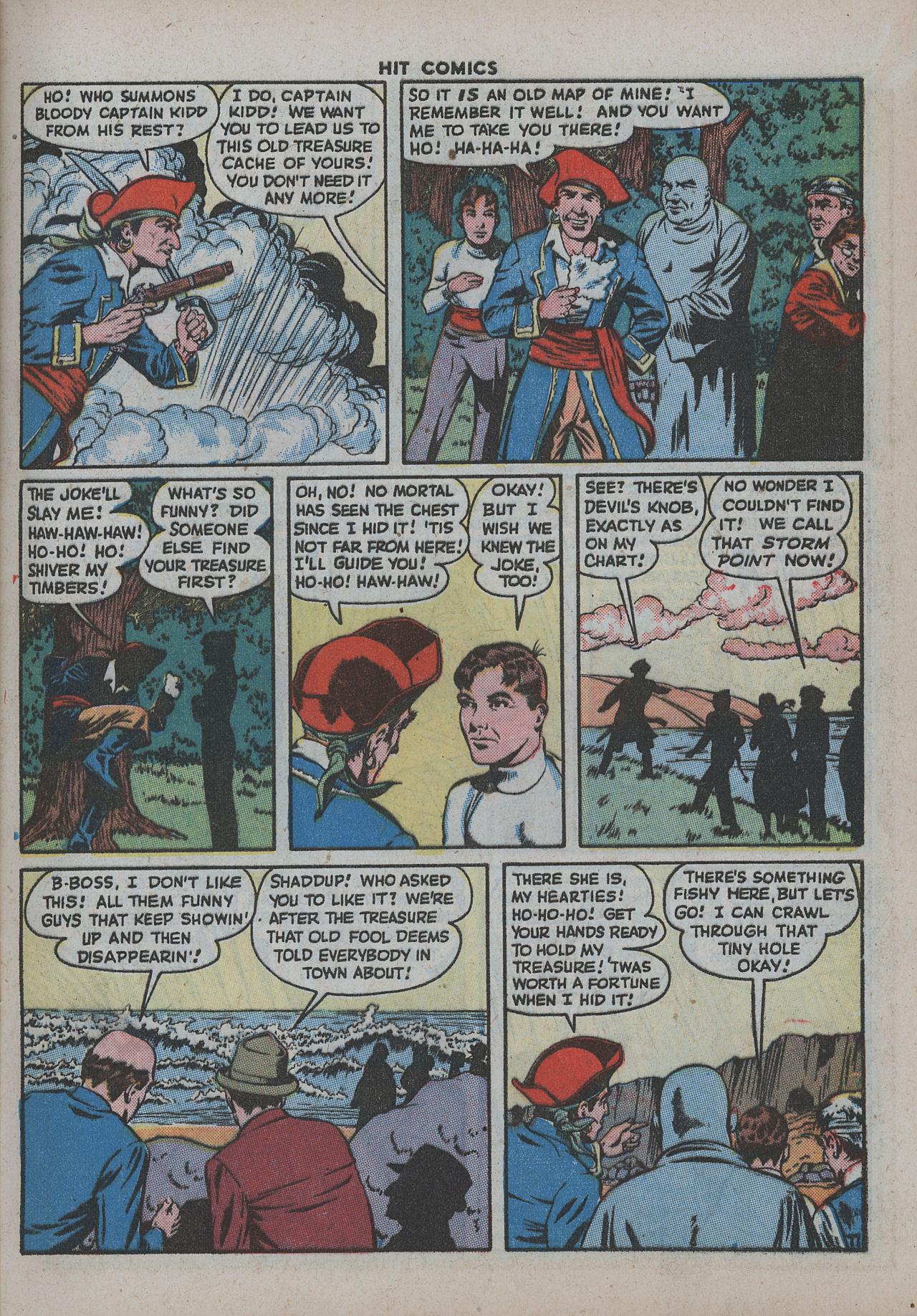 Read online Hit Comics comic -  Issue #38 - 16