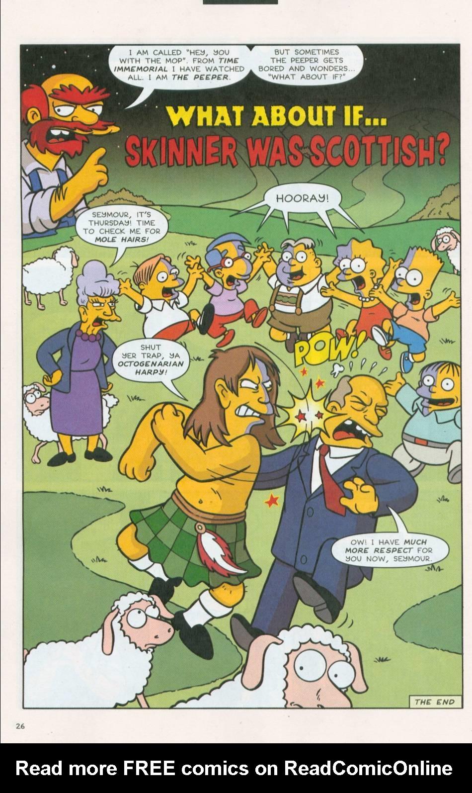 Read online Simpsons Comics comic -  Issue #75 - 27