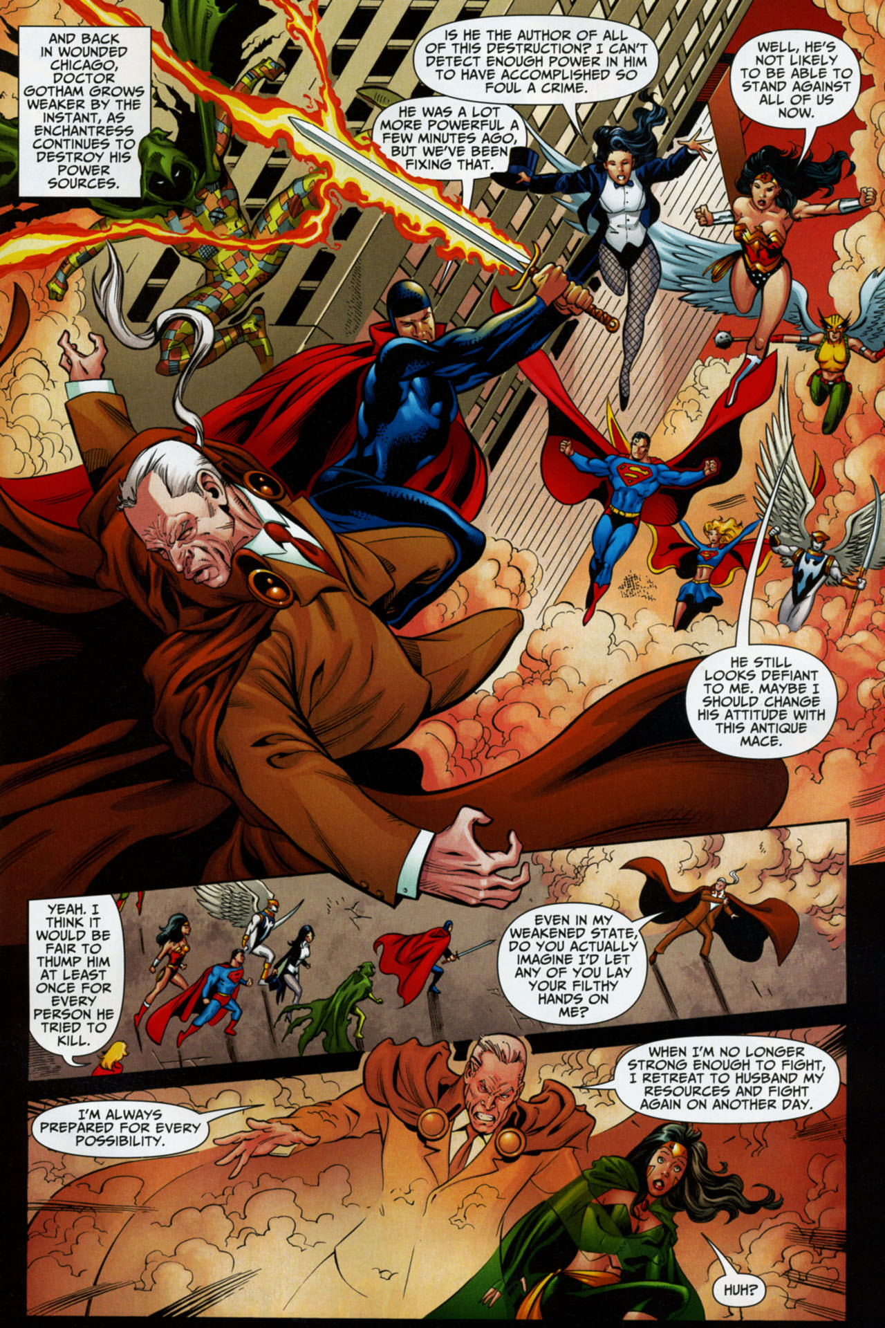 Read online Shadowpact comic -  Issue #16 - 21