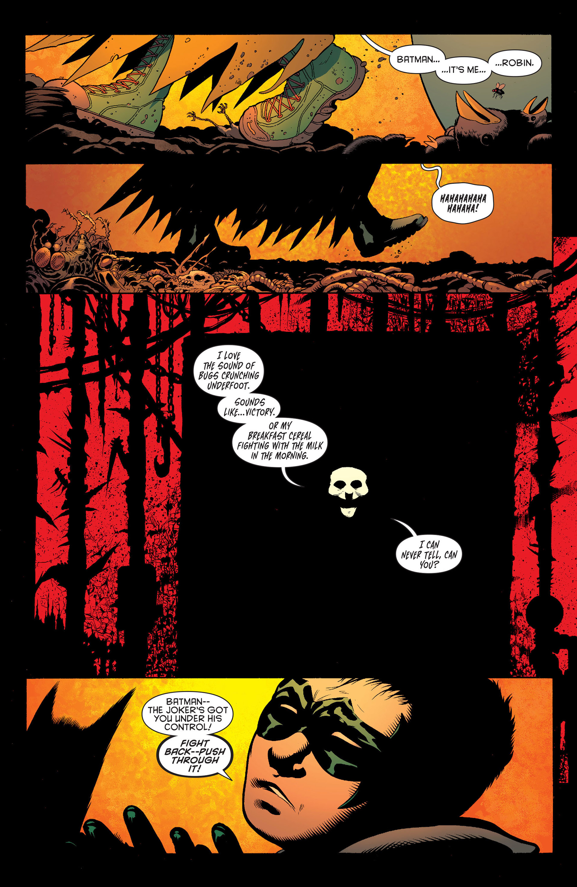 Read online Batman and Robin (2011) comic -  Issue #16 - 2