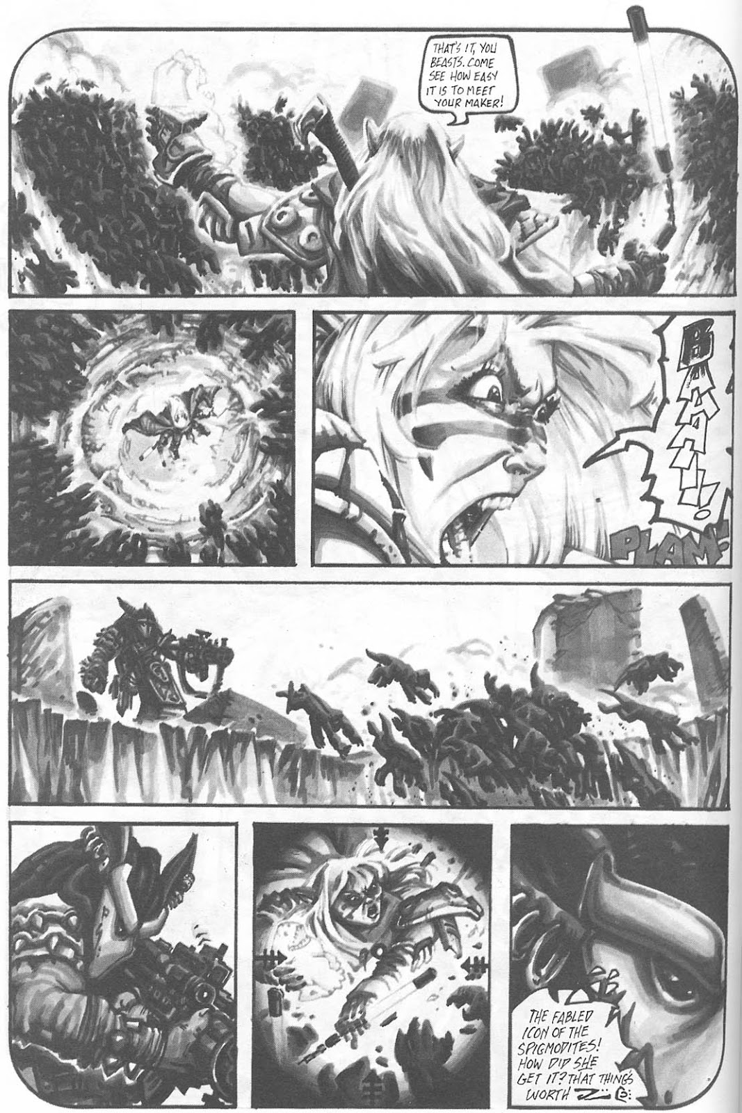 Read online Animal Mystic comic -  Issue #4 - 50