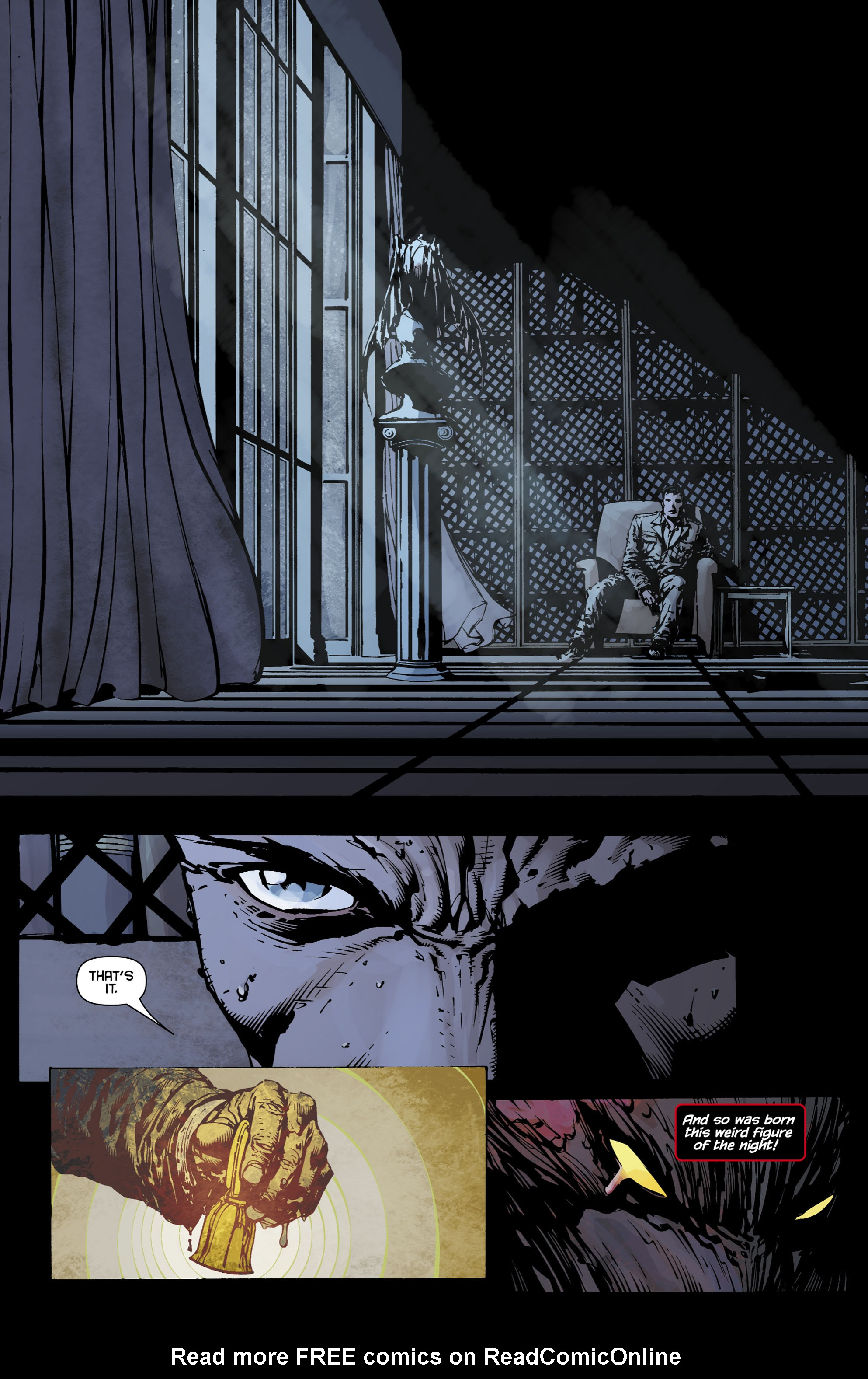 Read online Batman: The Return comic -  Issue # Full - 6