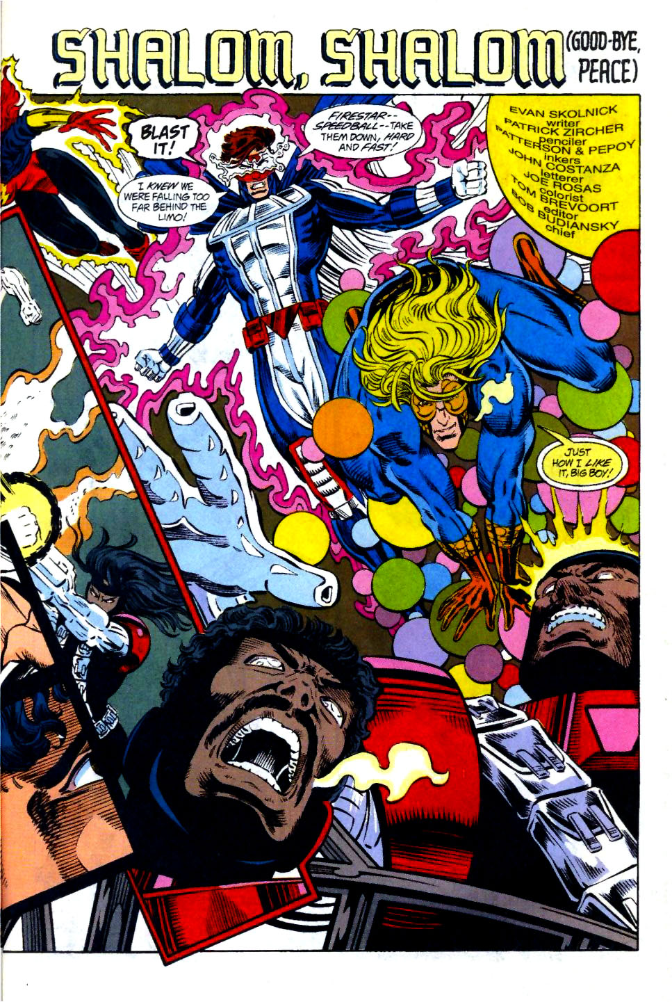 The New Warriors Issue #58 #62 - English 4