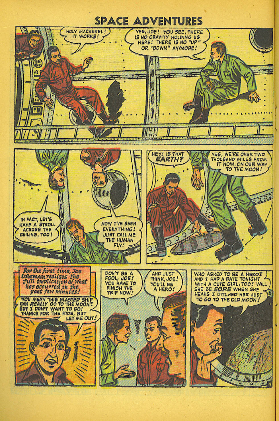 Space Adventures (1952) issue 20 - Page 16