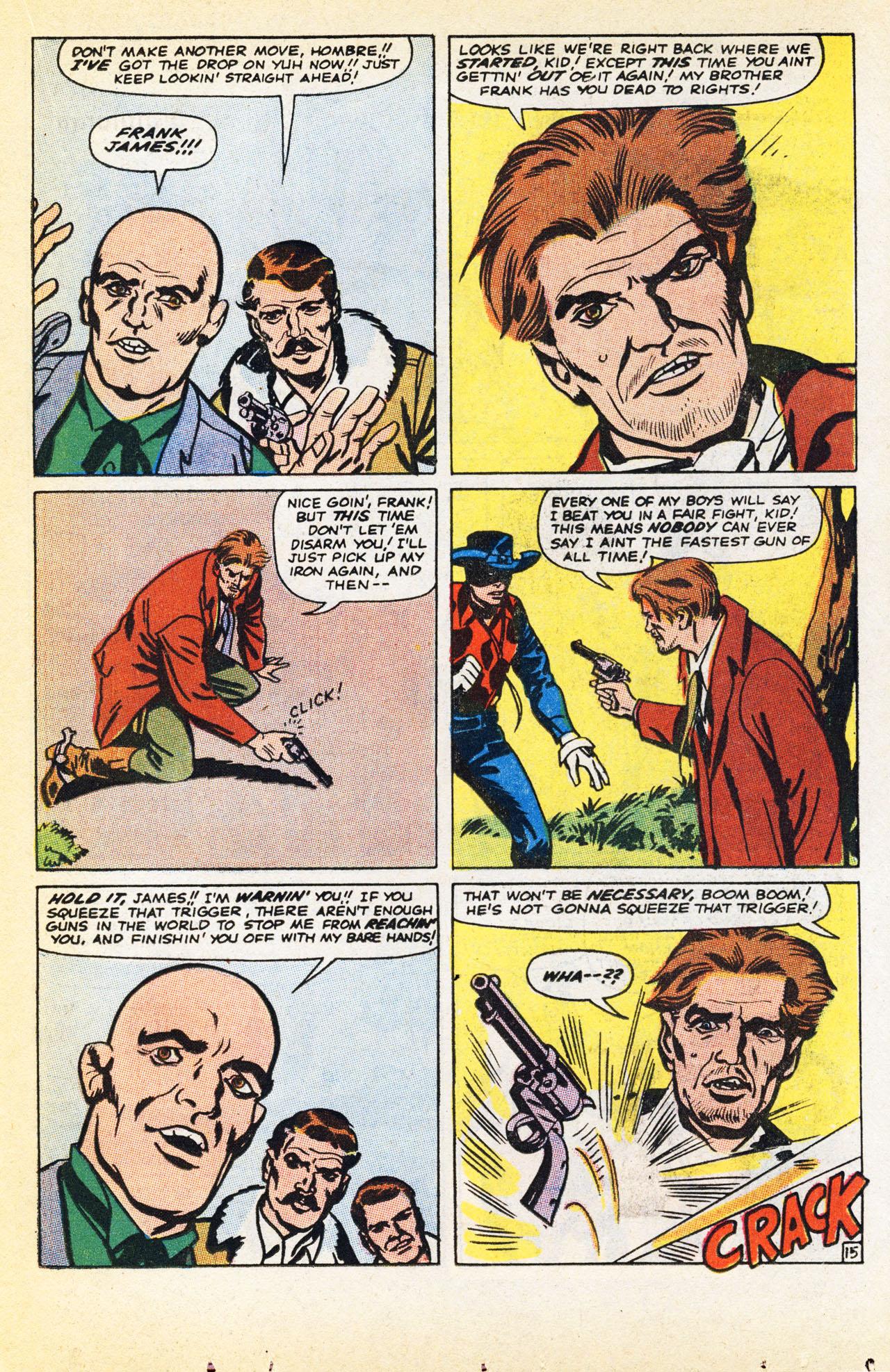 Read online Two-Gun Kid comic -  Issue #94 - 23