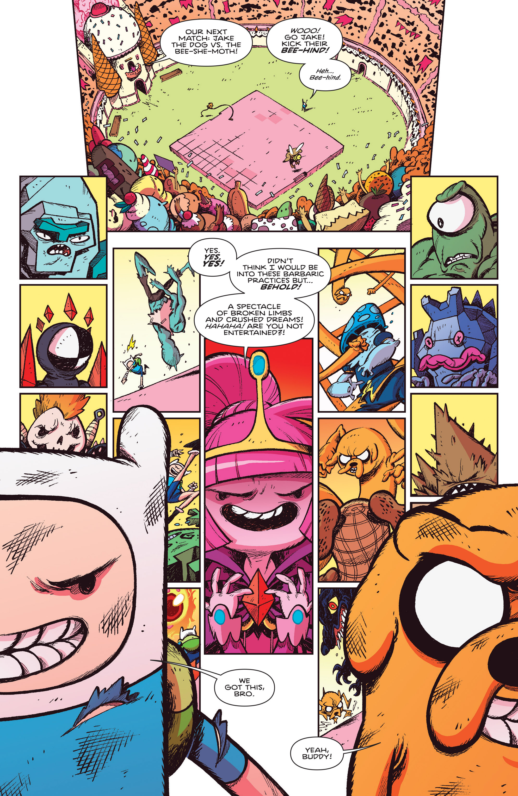 Read online Adventure Time Comics comic -  Issue #10 - 4