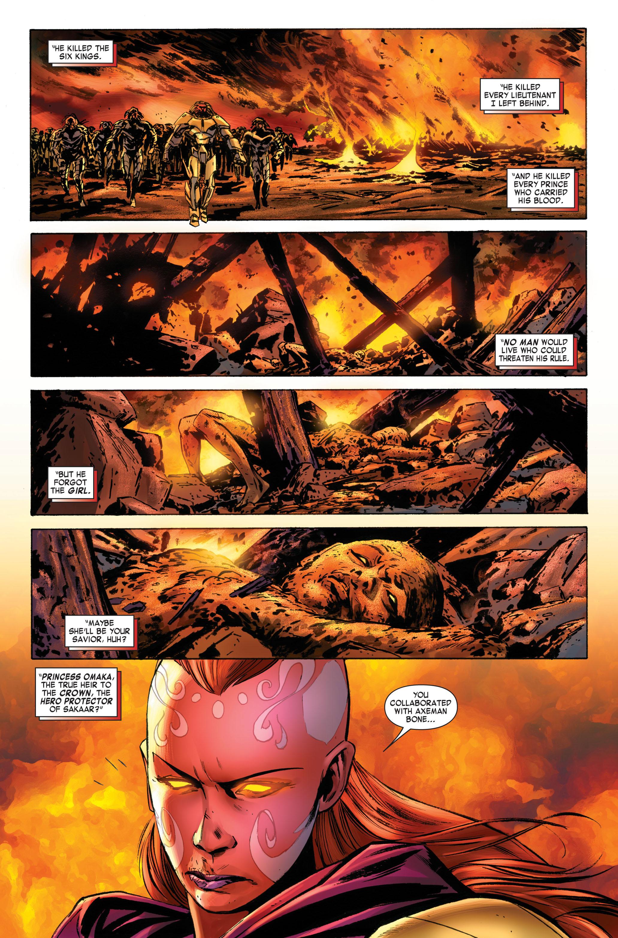 Read online Skaar: Son of Hulk comic -  Issue #3 - 20