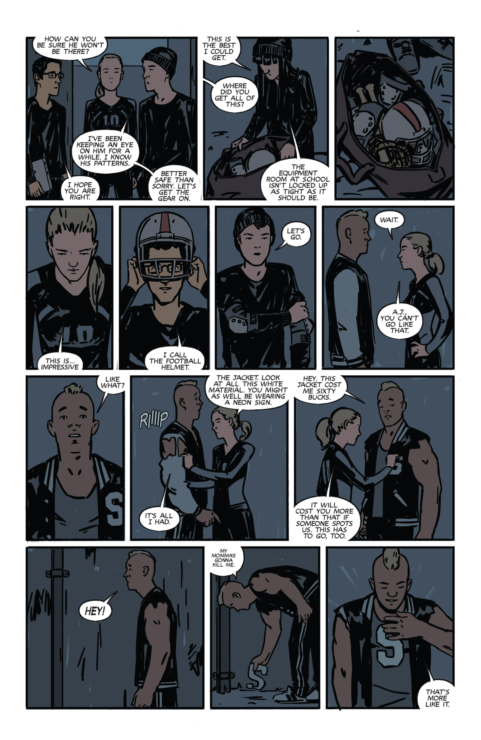 Read online Night Owl Society comic -  Issue #1 - 26