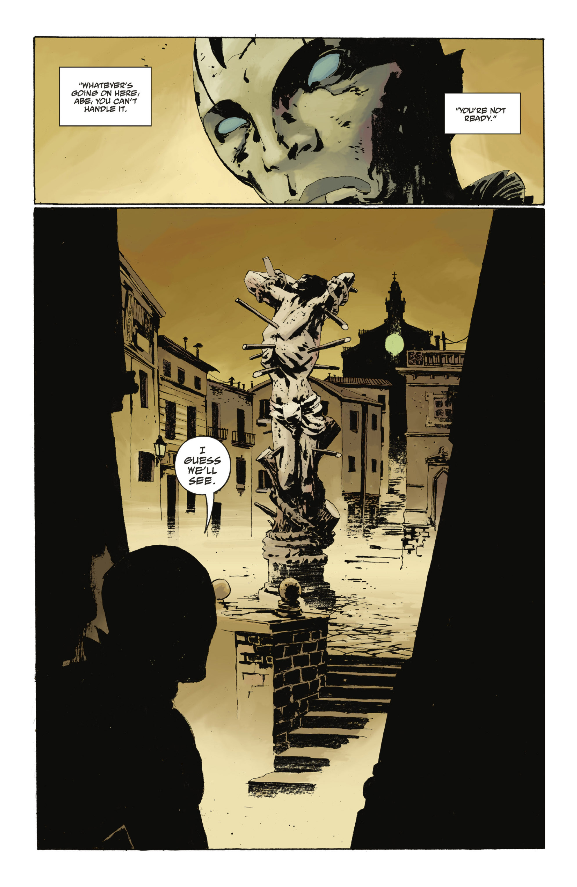 Read online Abe Sapien: The Drowning comic -  Issue #Abe Sapien: The Drowning _TPB - 58
