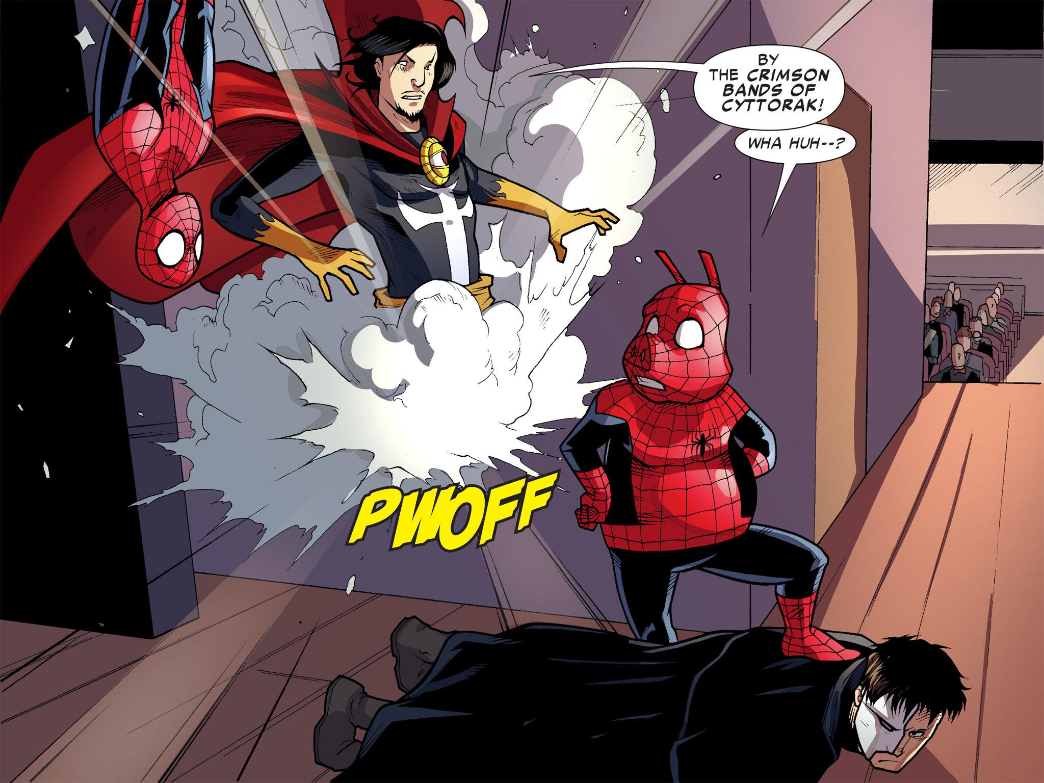 Read online Ultimate Spider-Man (Infinite Comics) (2016) comic -  Issue #9 - 11