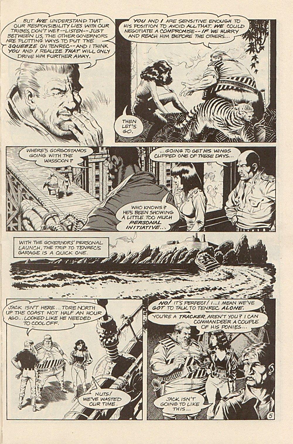 Read online Xenozoic Tales comic -  Issue #3 - 8