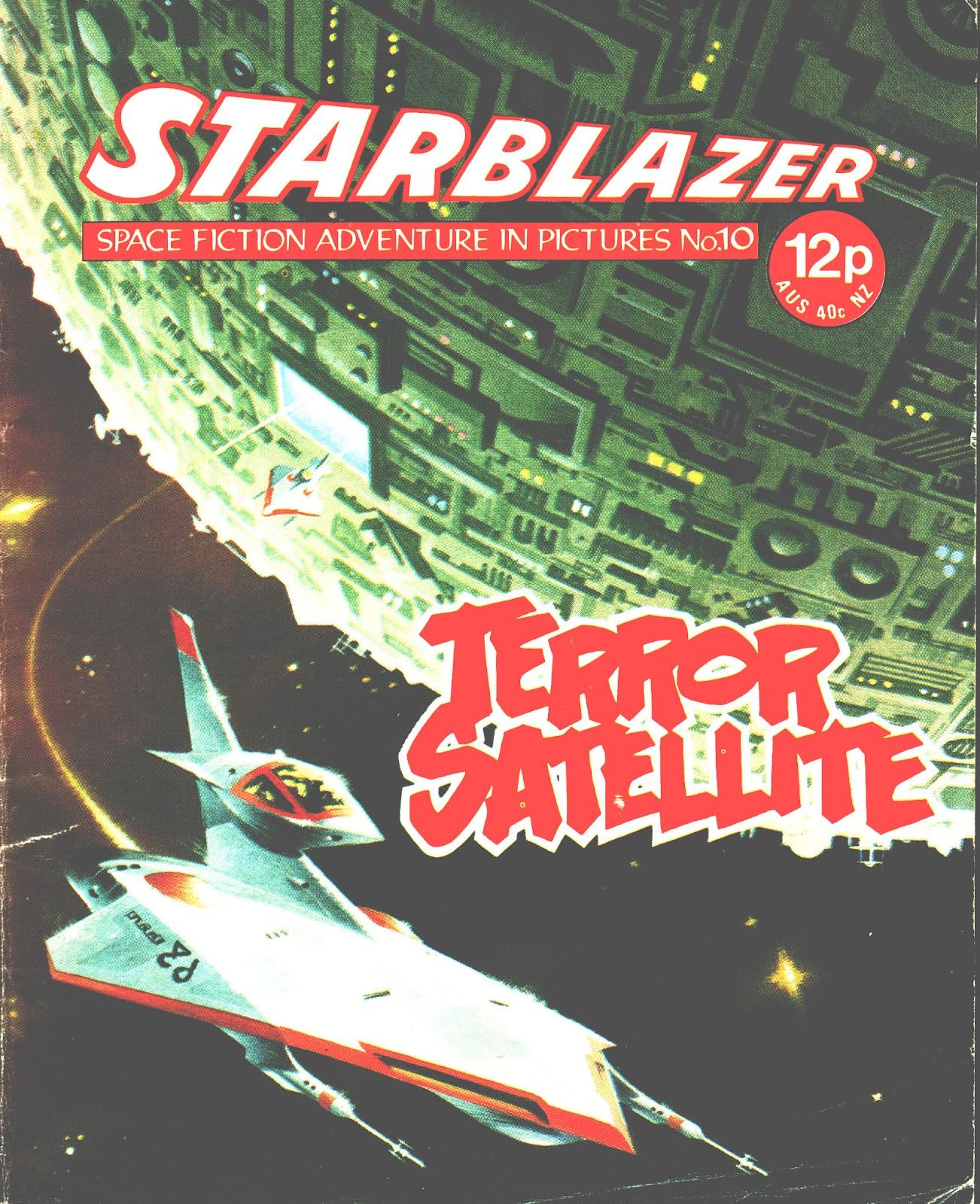 Starblazer issue 10 - Page 1