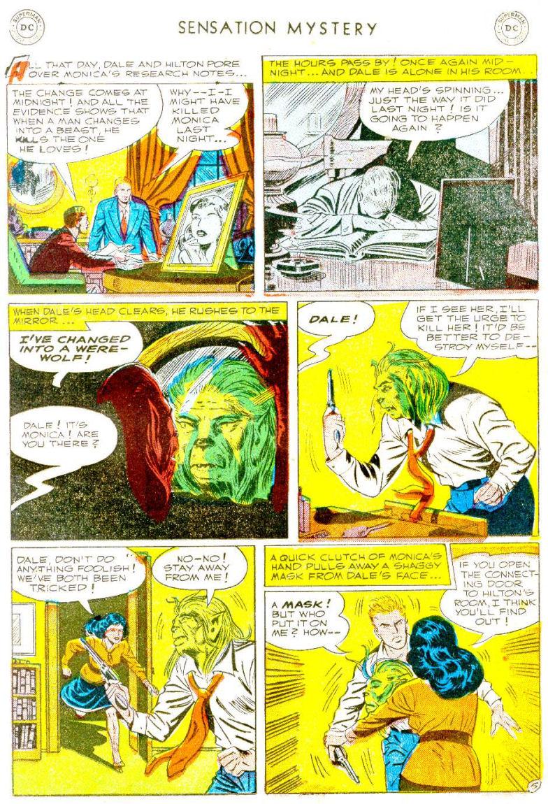 Read online Sensation (Mystery) Comics comic -  Issue #112 - 19
