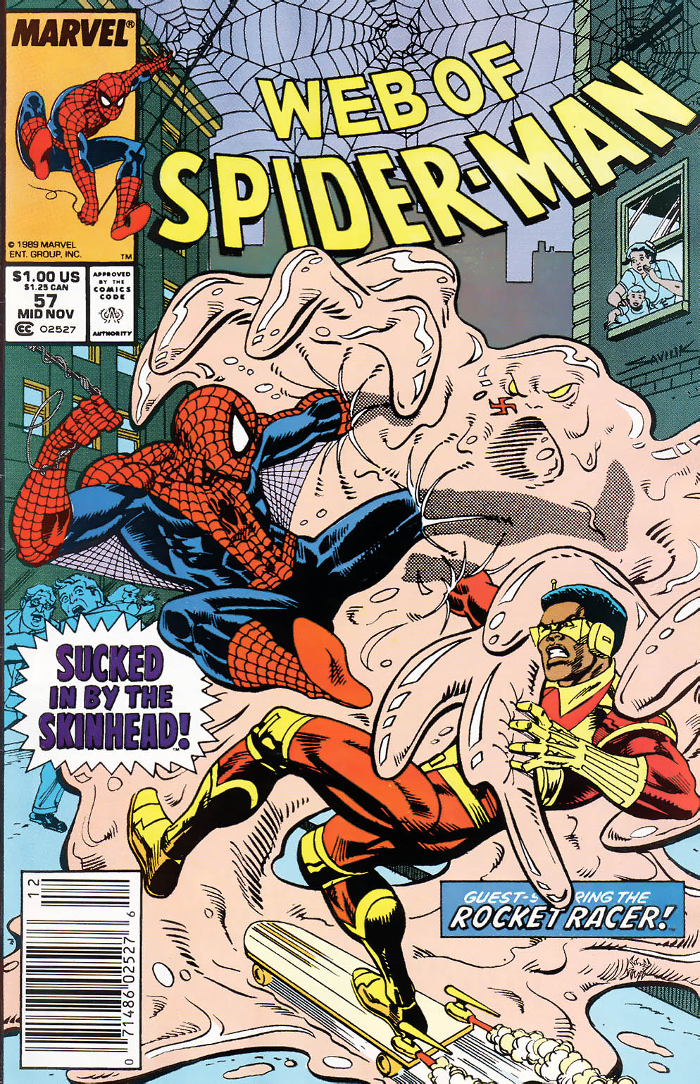 Web of Spider-Man (1985) 57 Page 1