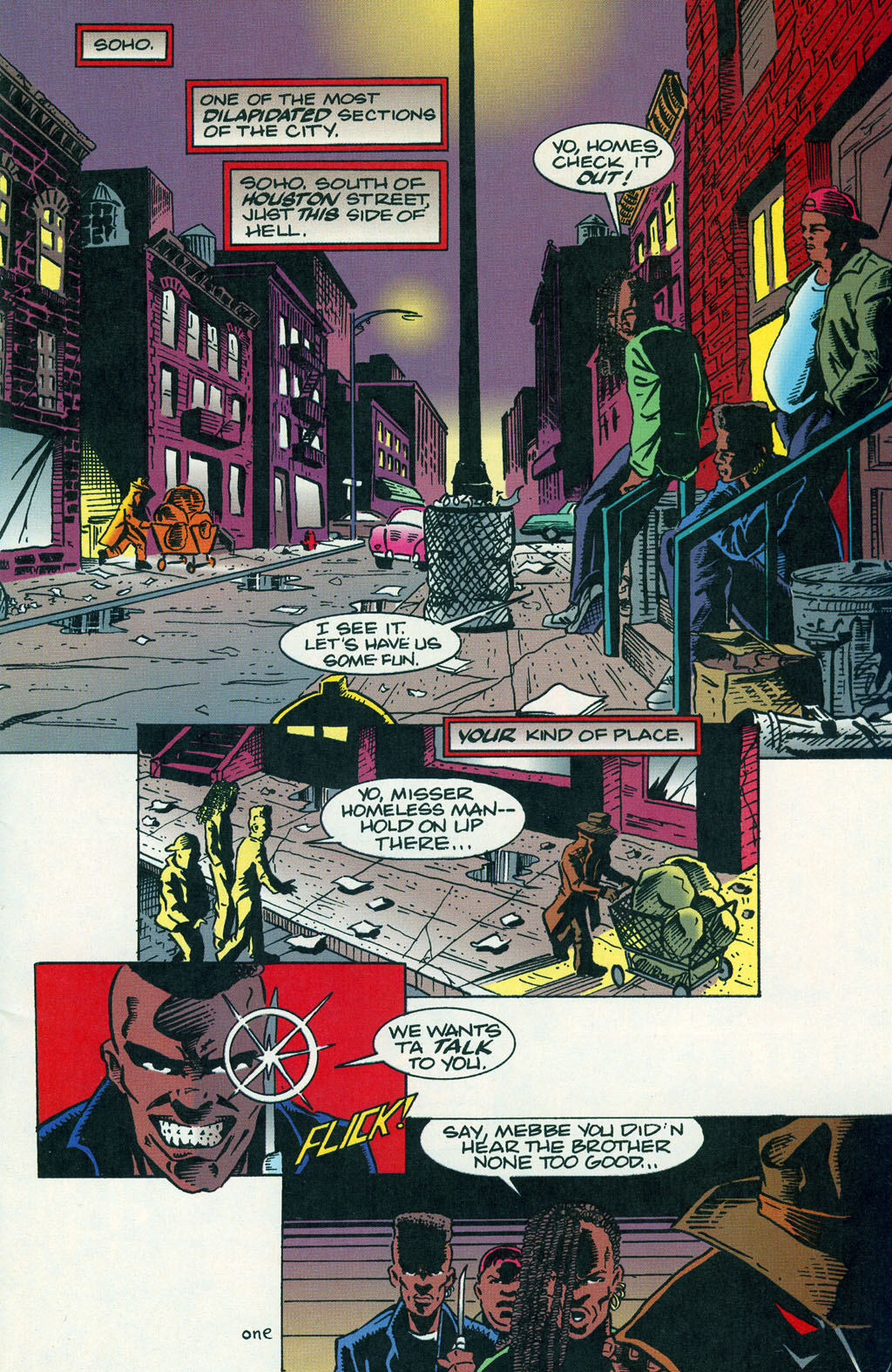 Read online ShadowHawk comic -  Issue #1 - 4
