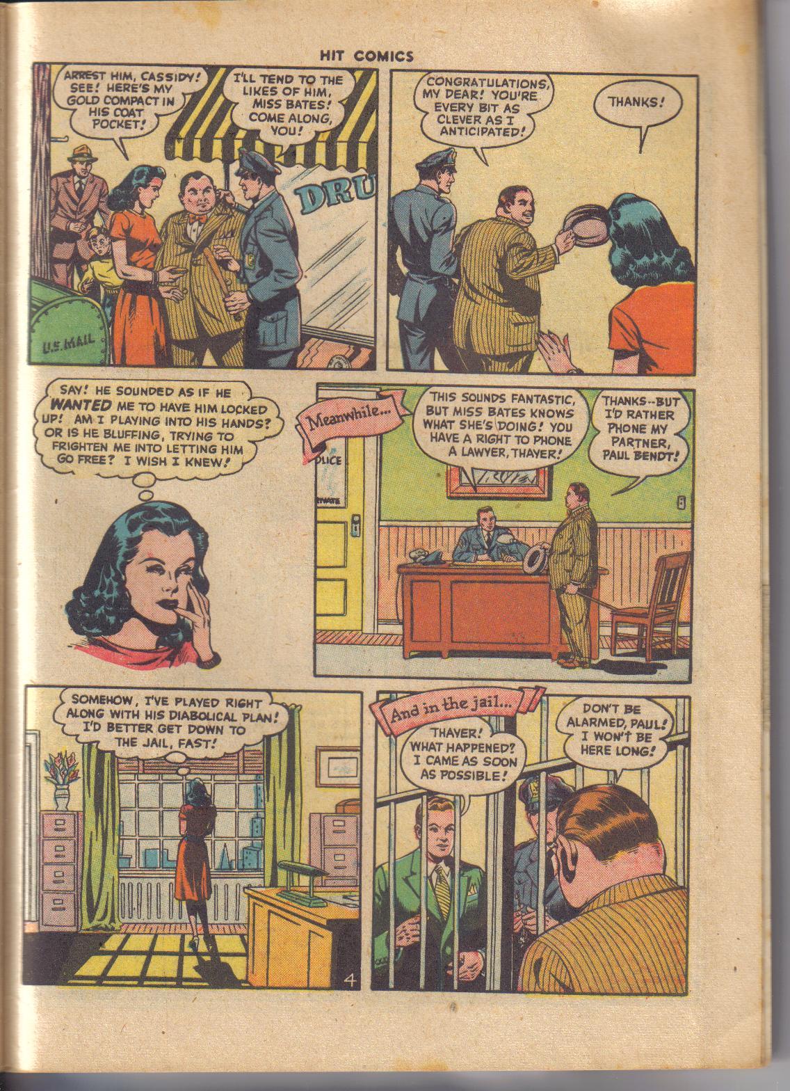 Read online Hit Comics comic -  Issue #45 - 26