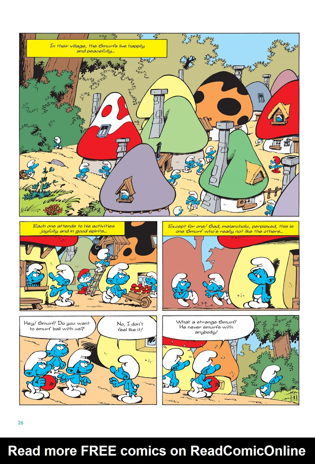 Read online The Smurfs comic -  Issue #9 - 26