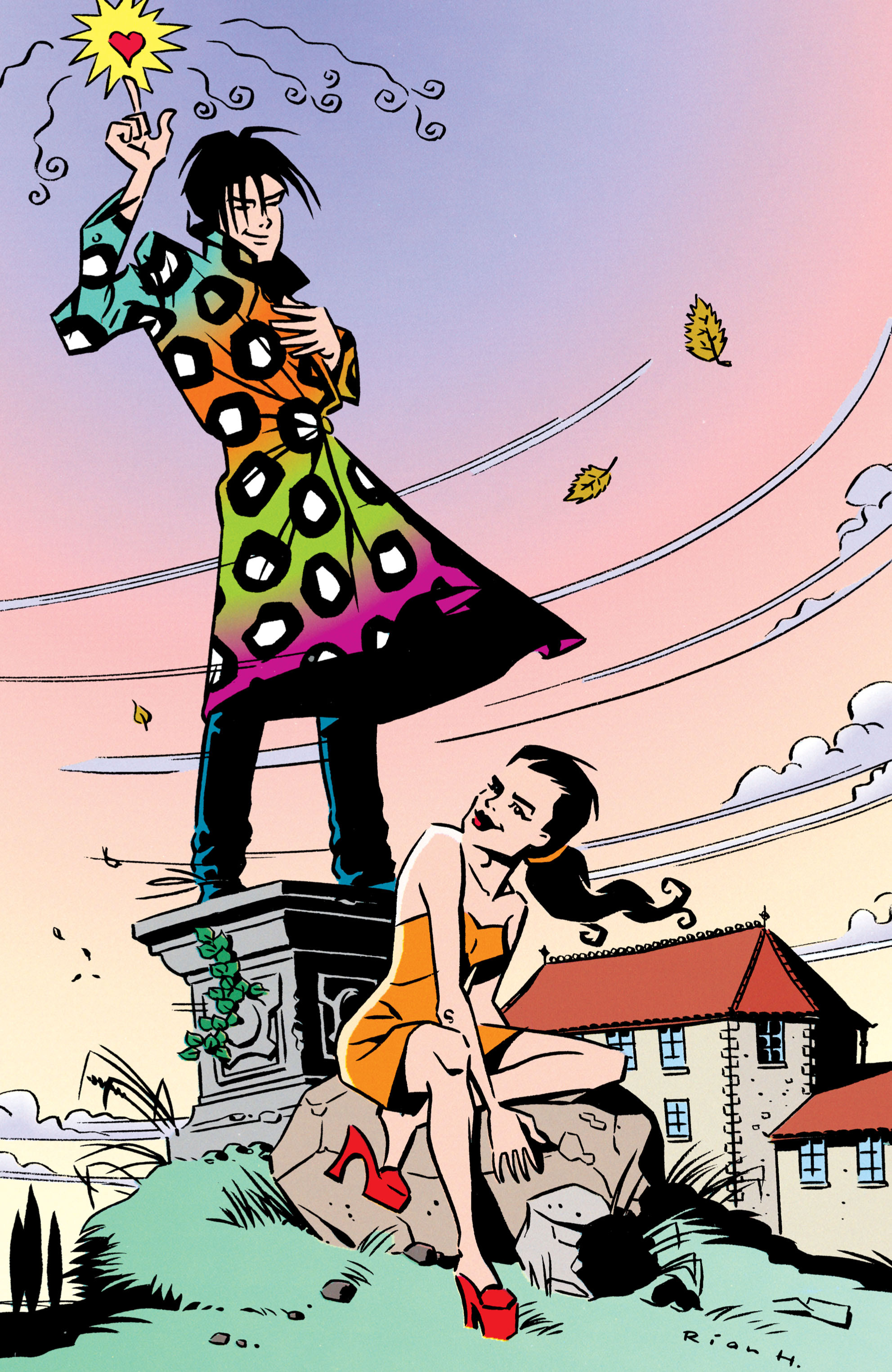 Read online Shade, the Changing Man comic -  Issue #50 - 38