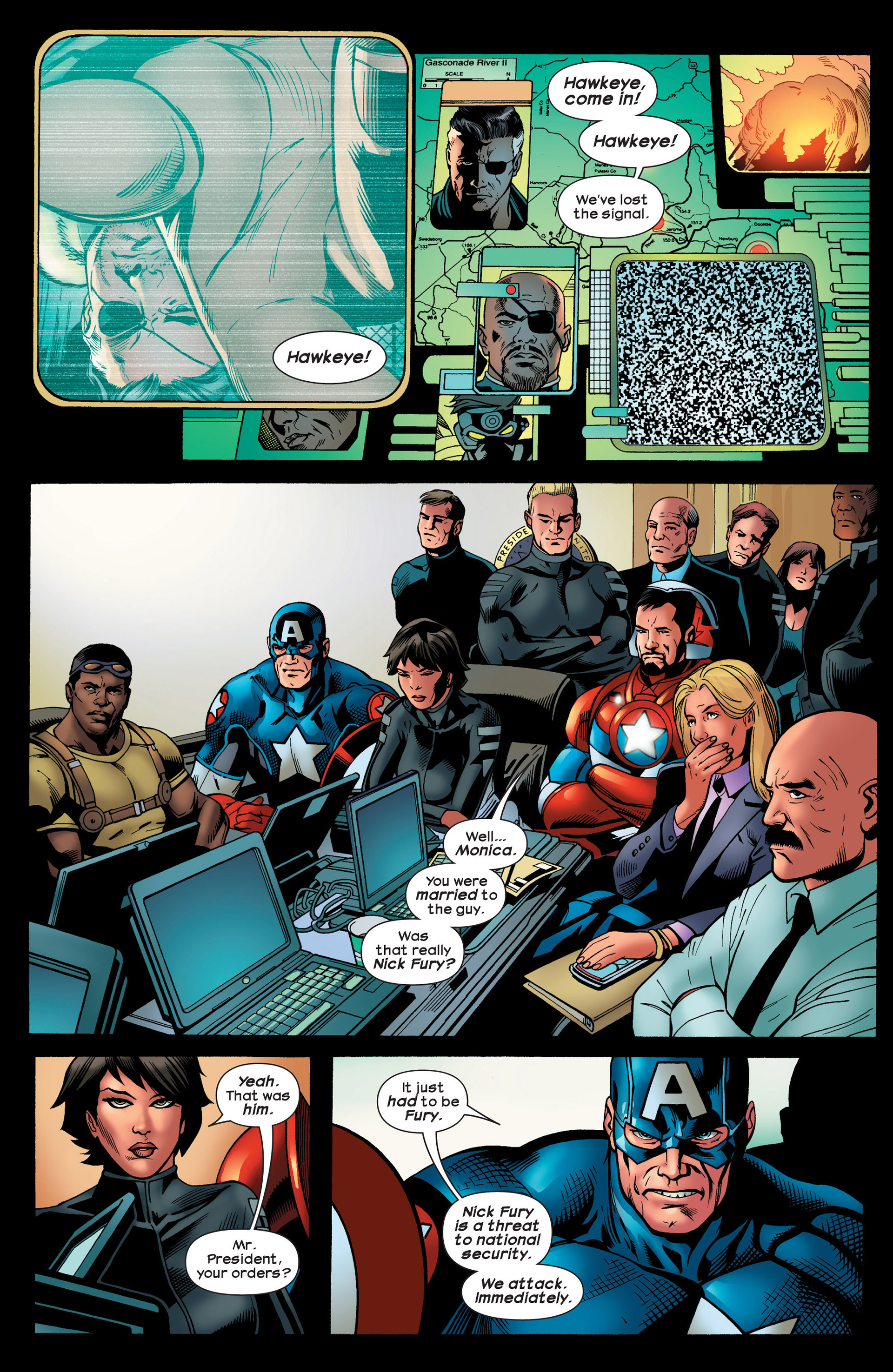 Read online Ultimate Comics Ultimates comic -  Issue #20 - 20