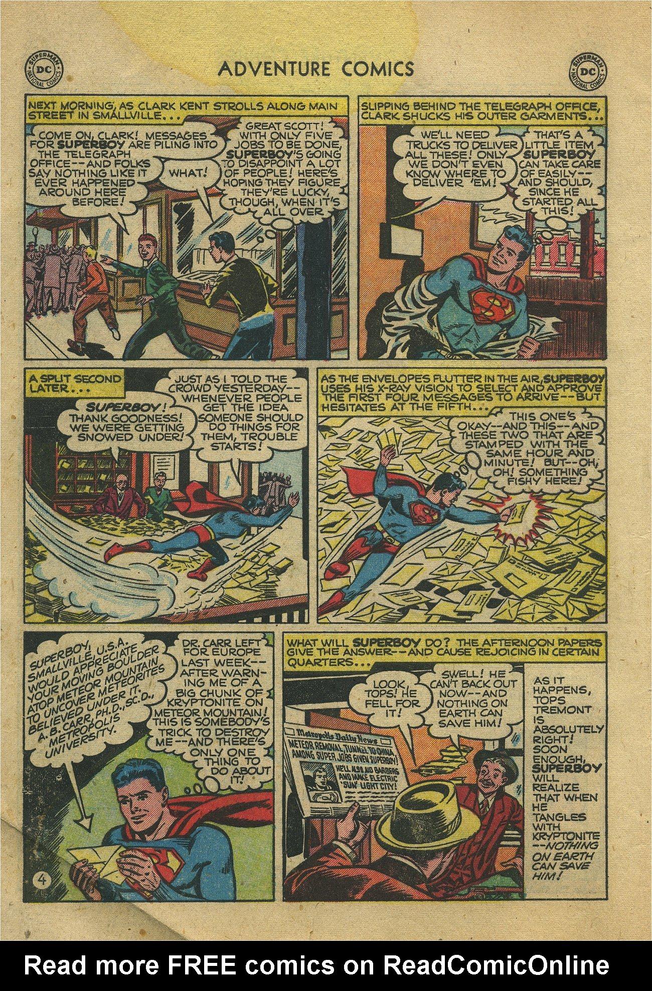 Read online Adventure Comics (1938) comic -  Issue #171 - 6