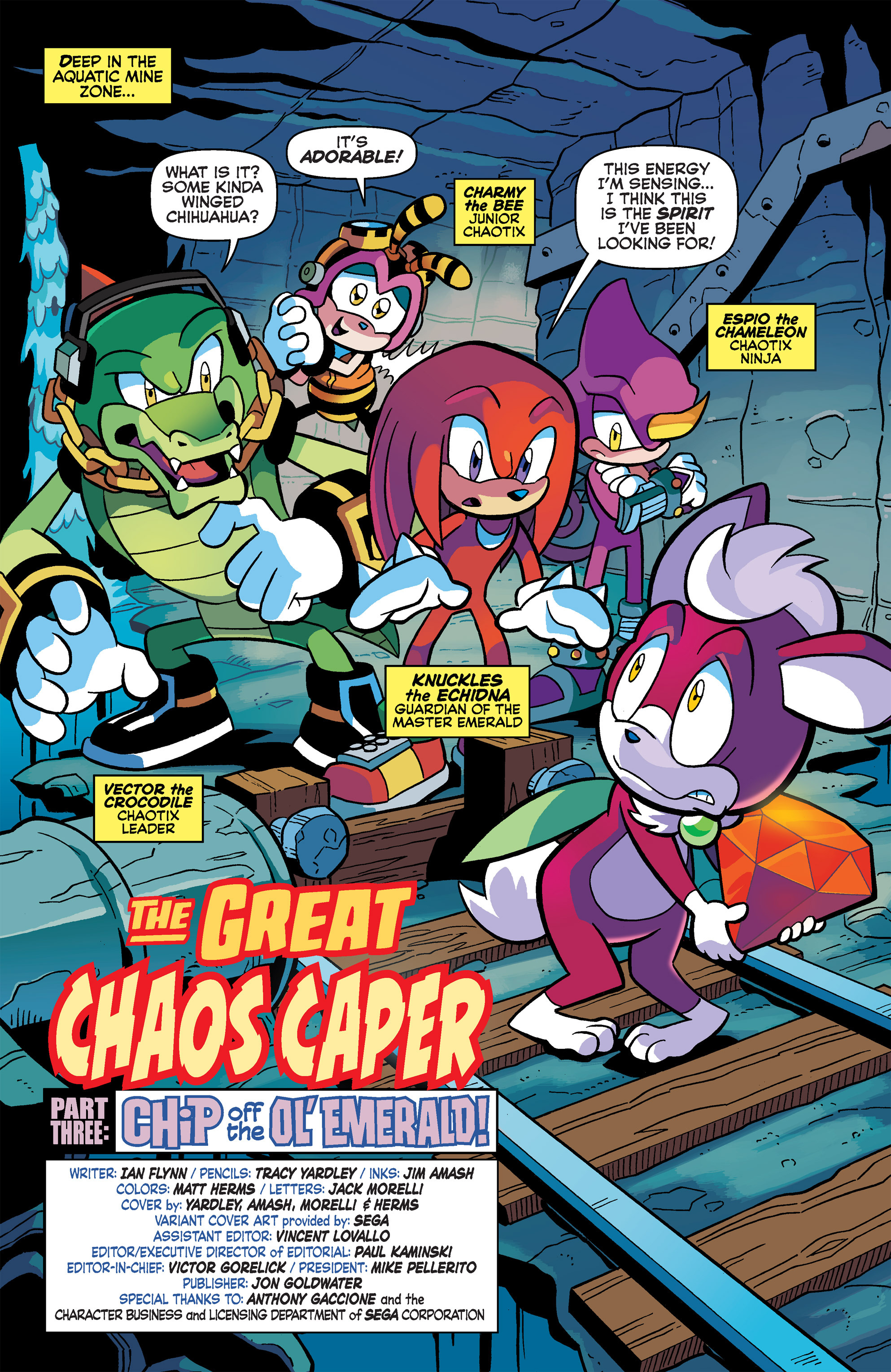 Read online Sonic Universe comic -  Issue #65 - 3