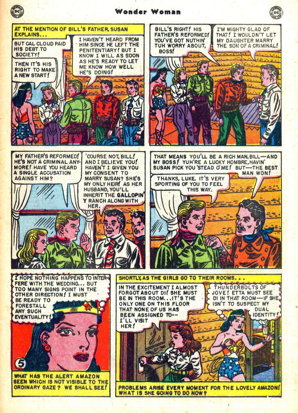 Read online Wonder Woman (1942) comic -  Issue #45 - 43