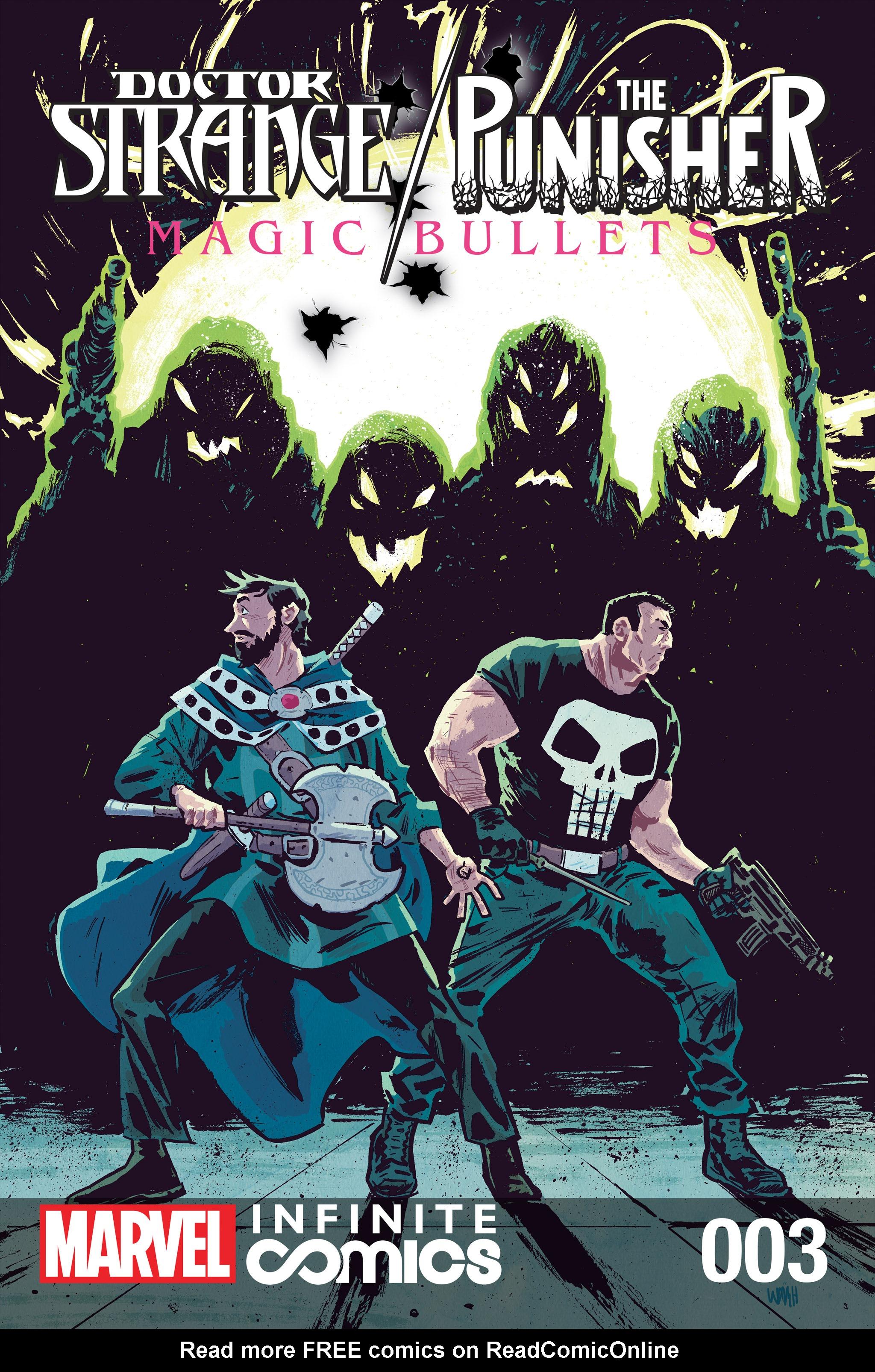 Doctor Strange/Punisher: Magic Bullets Infinite Comic 3 Page 1