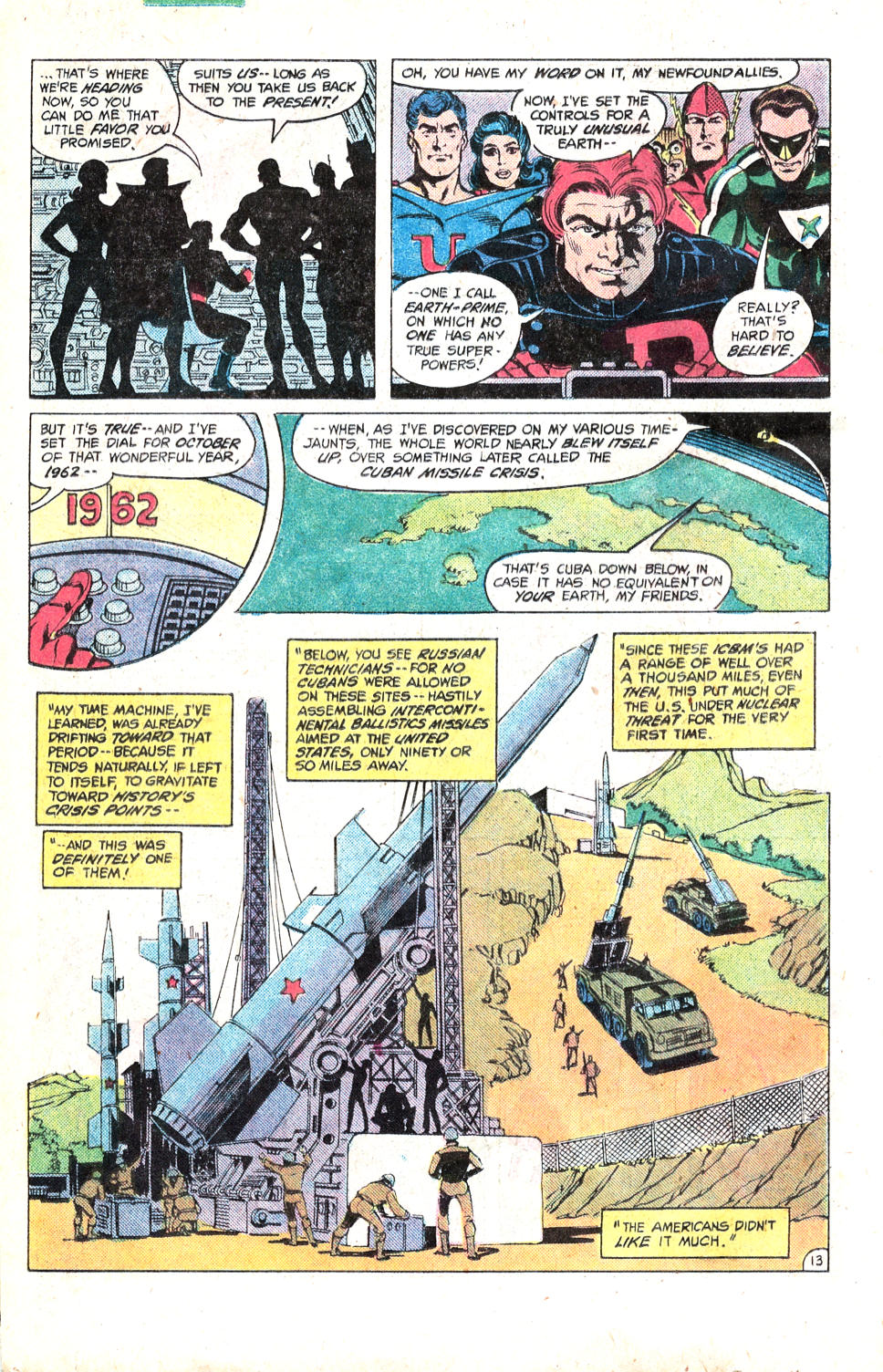 Read online All-Star Squadron comic -  Issue #14 - 17