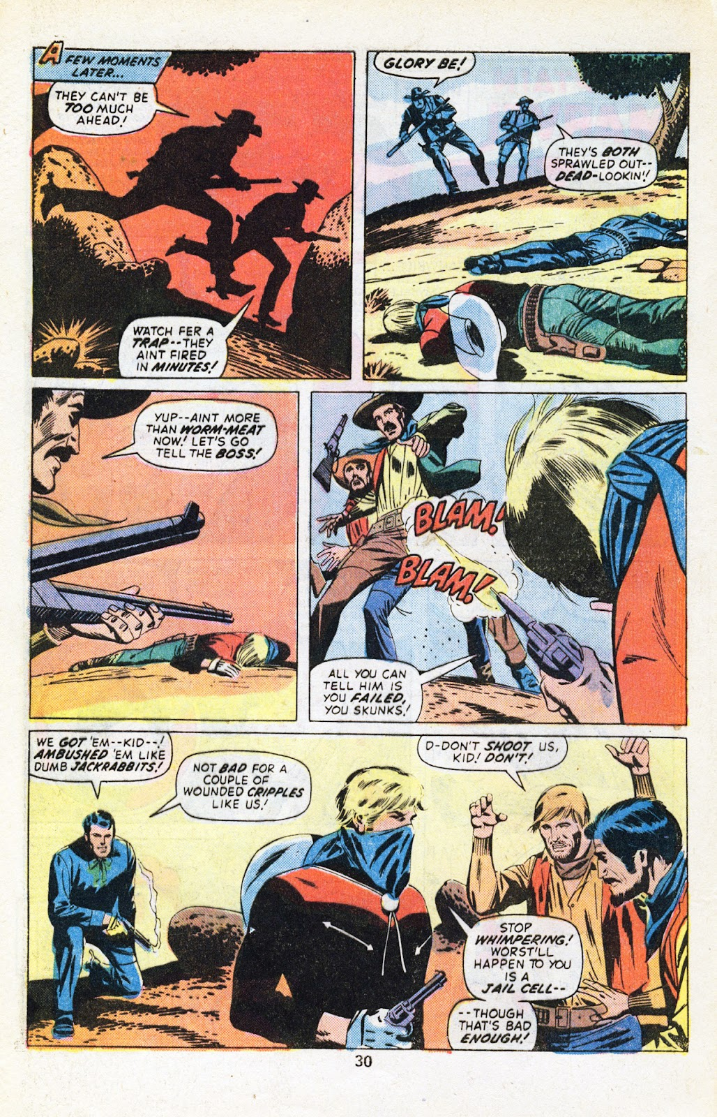 The Outlaw Kid (1970) issue 29 - Page 32