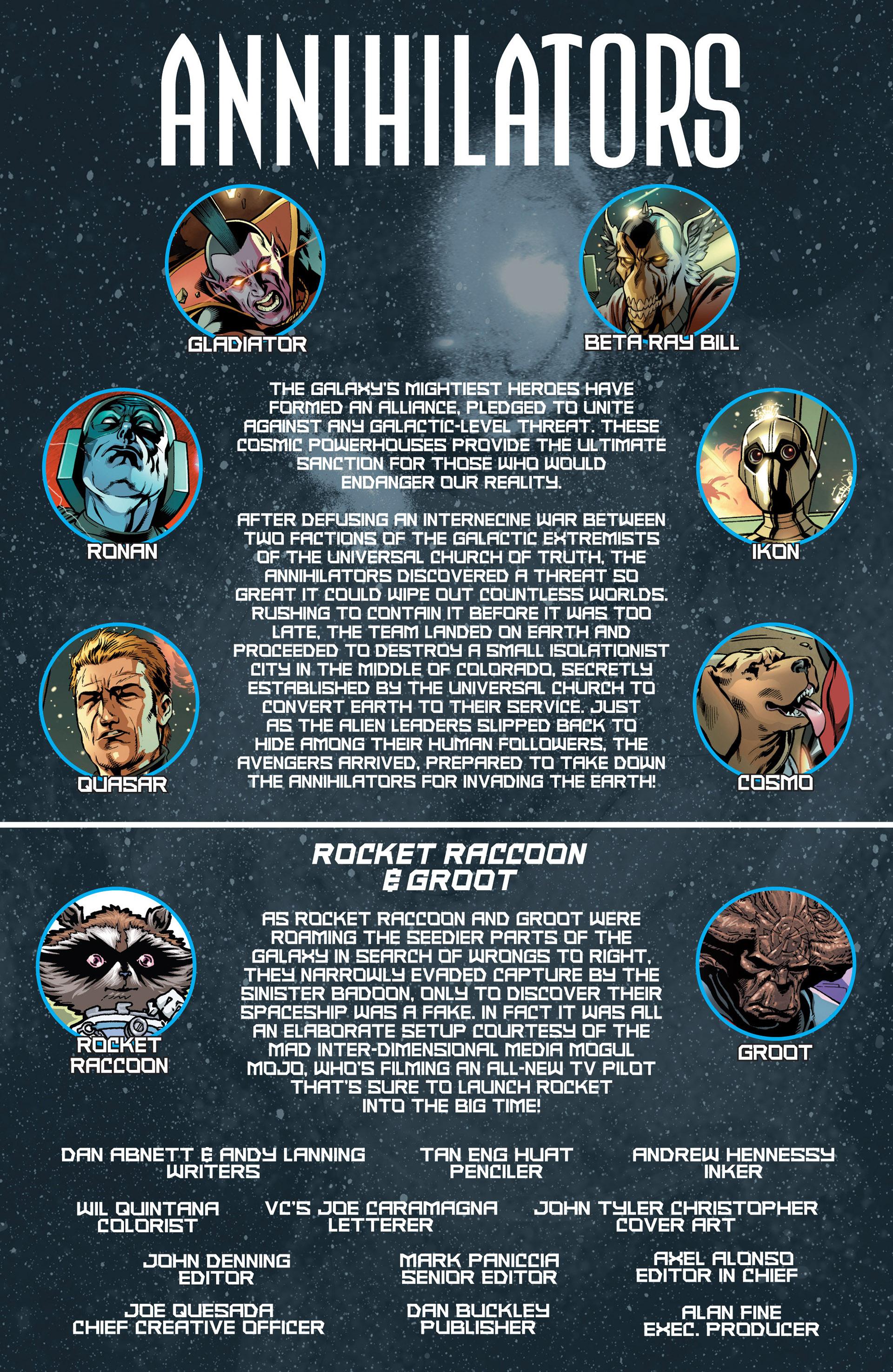 Read online Annihilators: Earthfall comic -  Issue #2 - 2