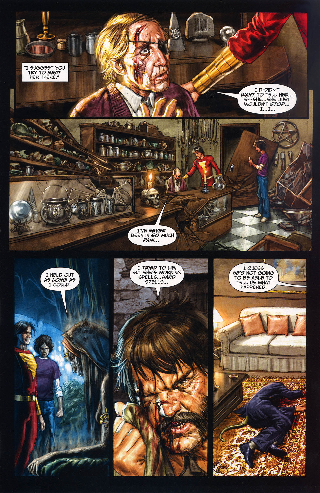 Read online Trials of Shazam comic -  Issue #10 - 10