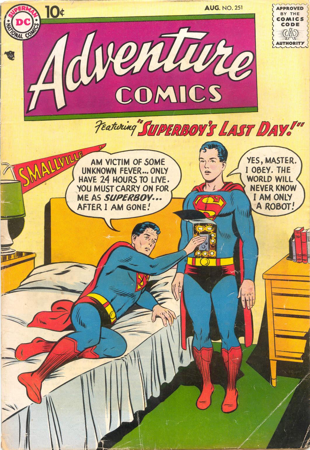 Read online Adventure Comics (1938) comic -  Issue #251 - 1