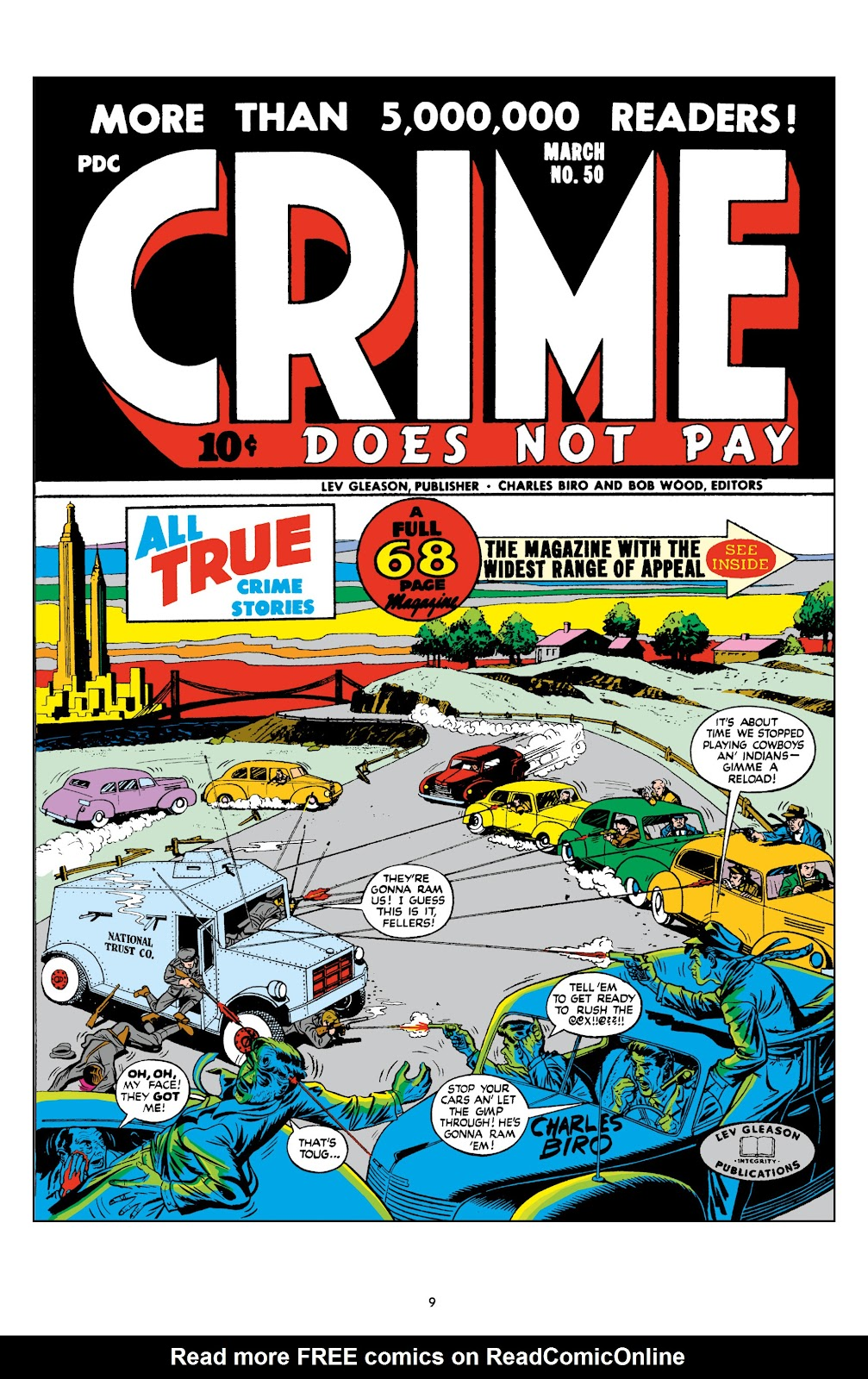 Read online Crime Does Not Pay Archives comic -  Issue # TPB 8 (Part 1) - 11