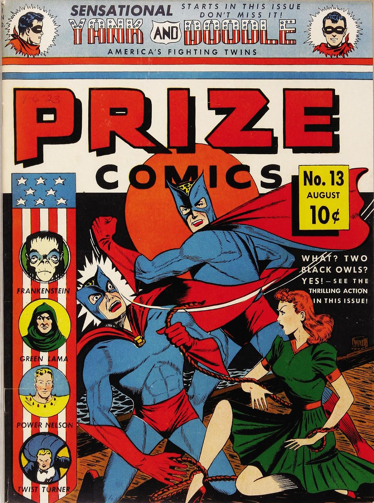 Prize Comics 13 Page 1