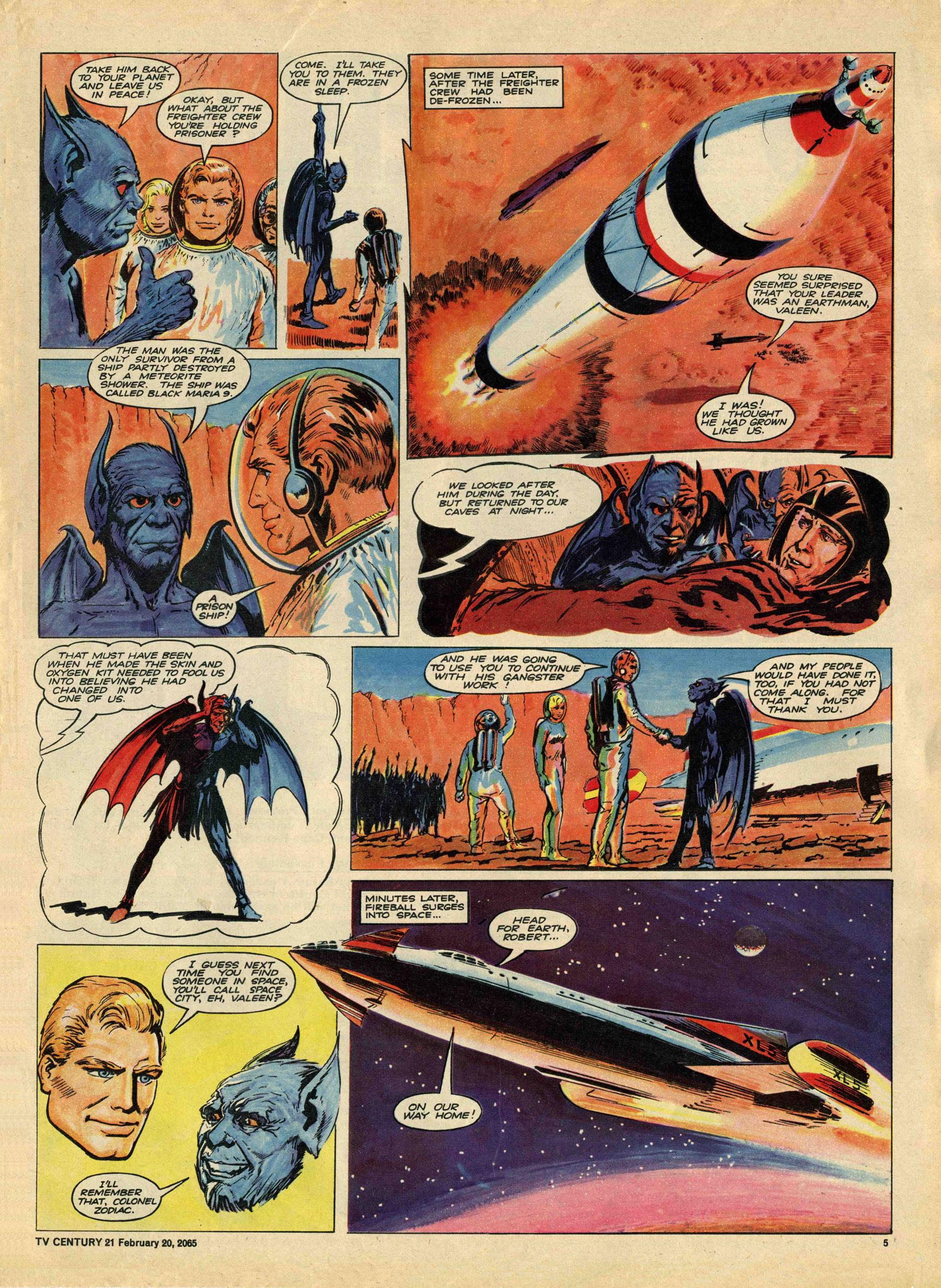 Read online TV Century 21 (TV 21) comic -  Issue #5 - 5