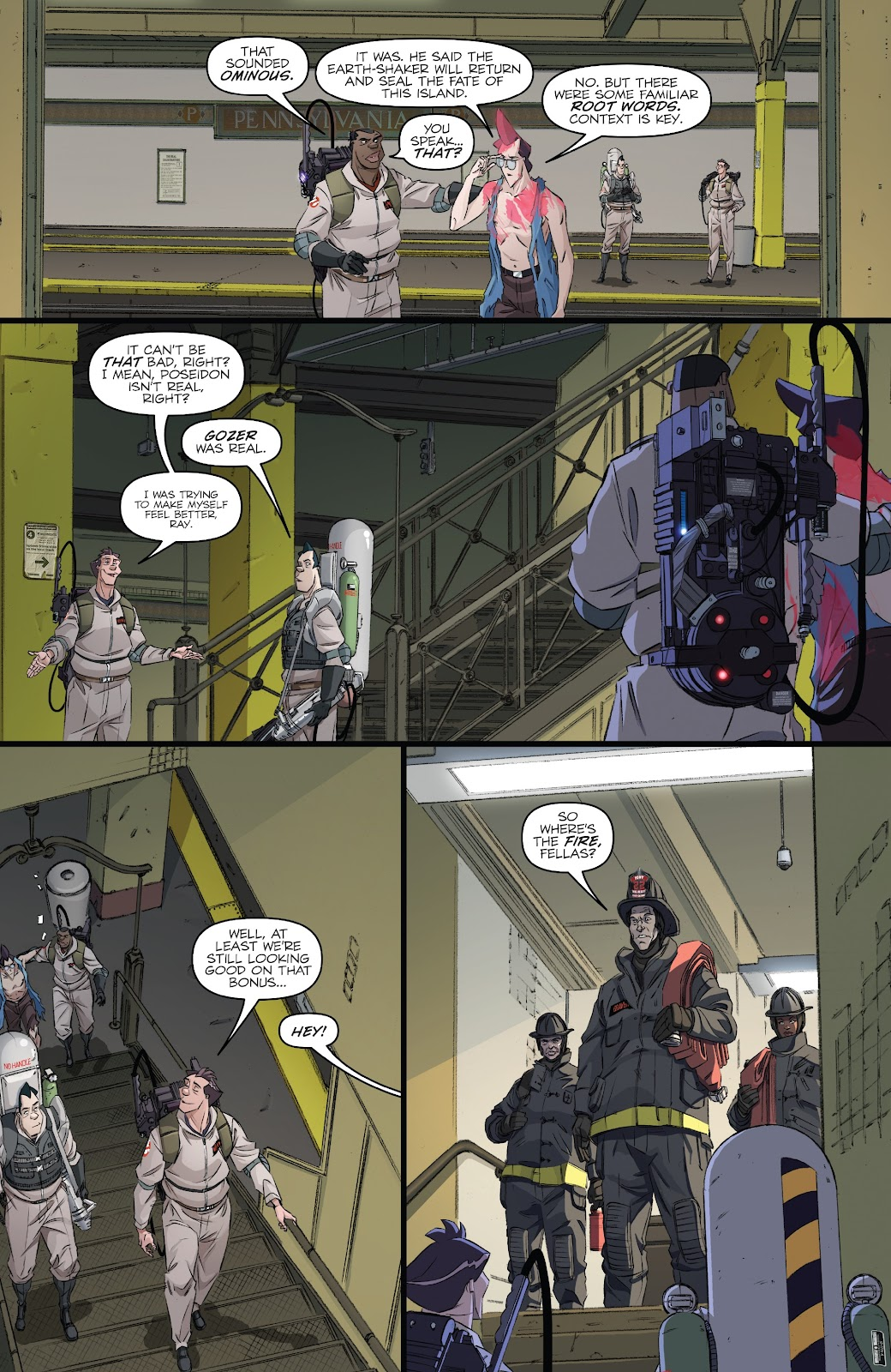 Read online Ghostbusters 35th Anniversary: Ghostbusters comic -  Issue # Full - 17
