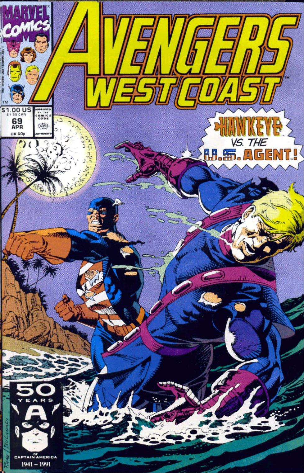 Avengers West Coast (1989) 69 Page 1