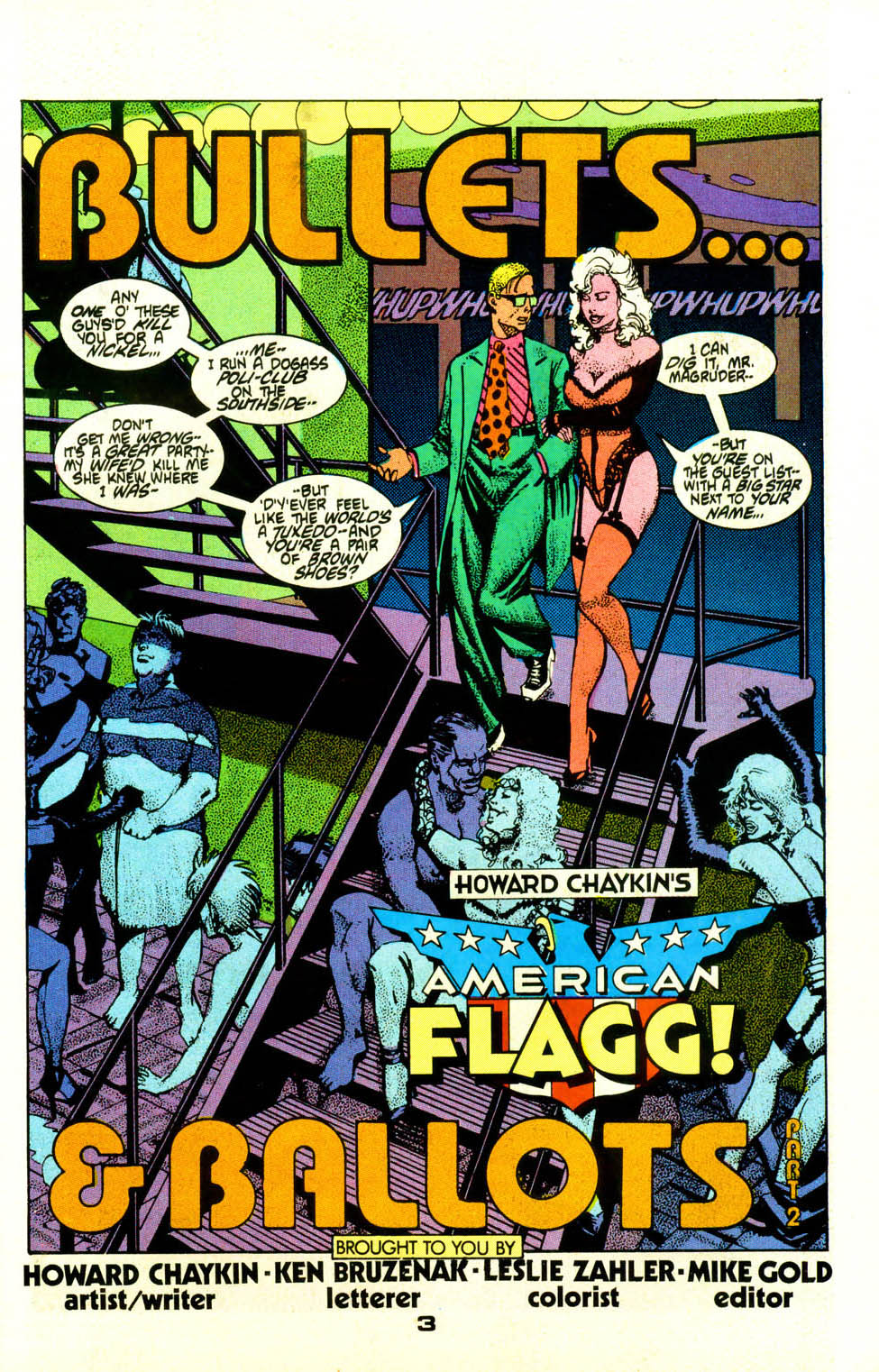 Read online American Flagg! comic -  Issue #20 - 4