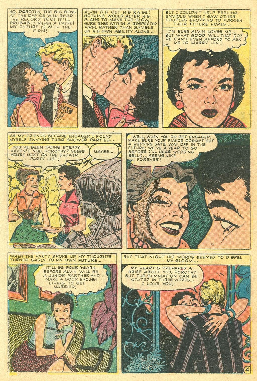 Love Romances (1949) issue 48 - Page 30