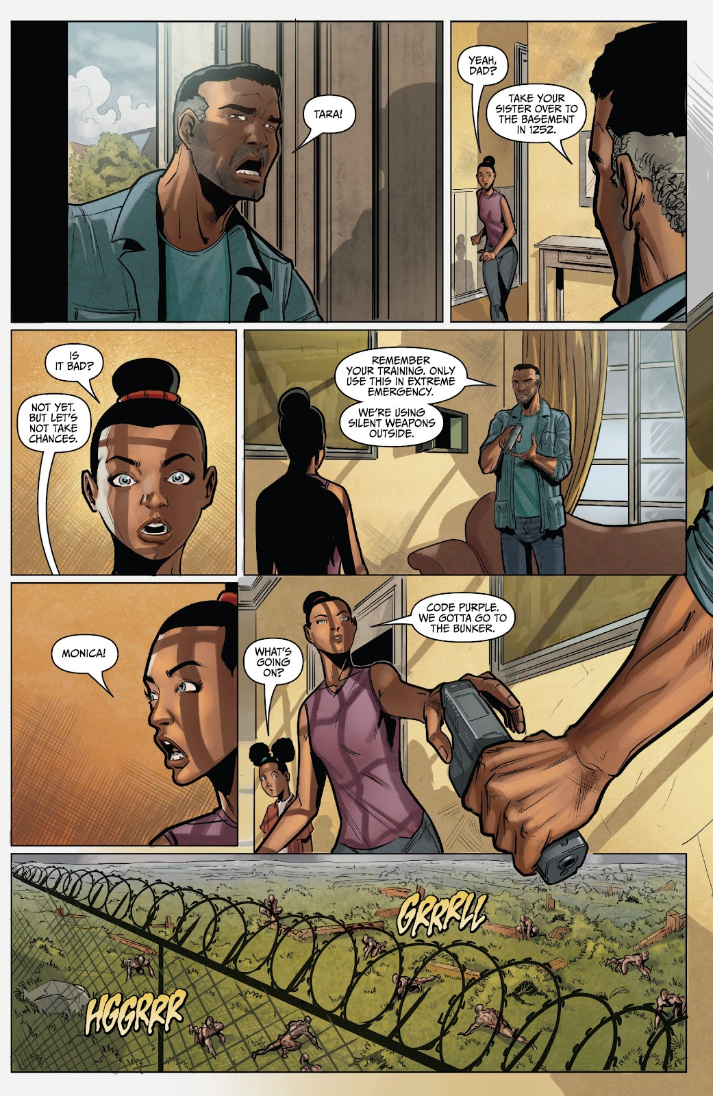 The Courier: Liberty & Death issue 2 - Page 18