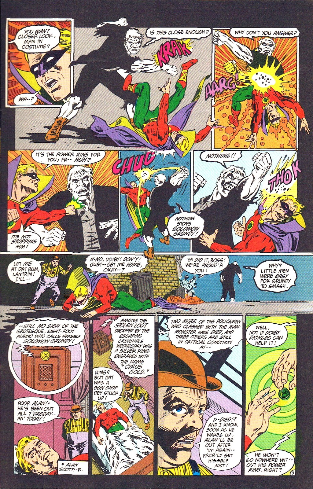 Infinity Inc. (1984) issue 39 - Page 11