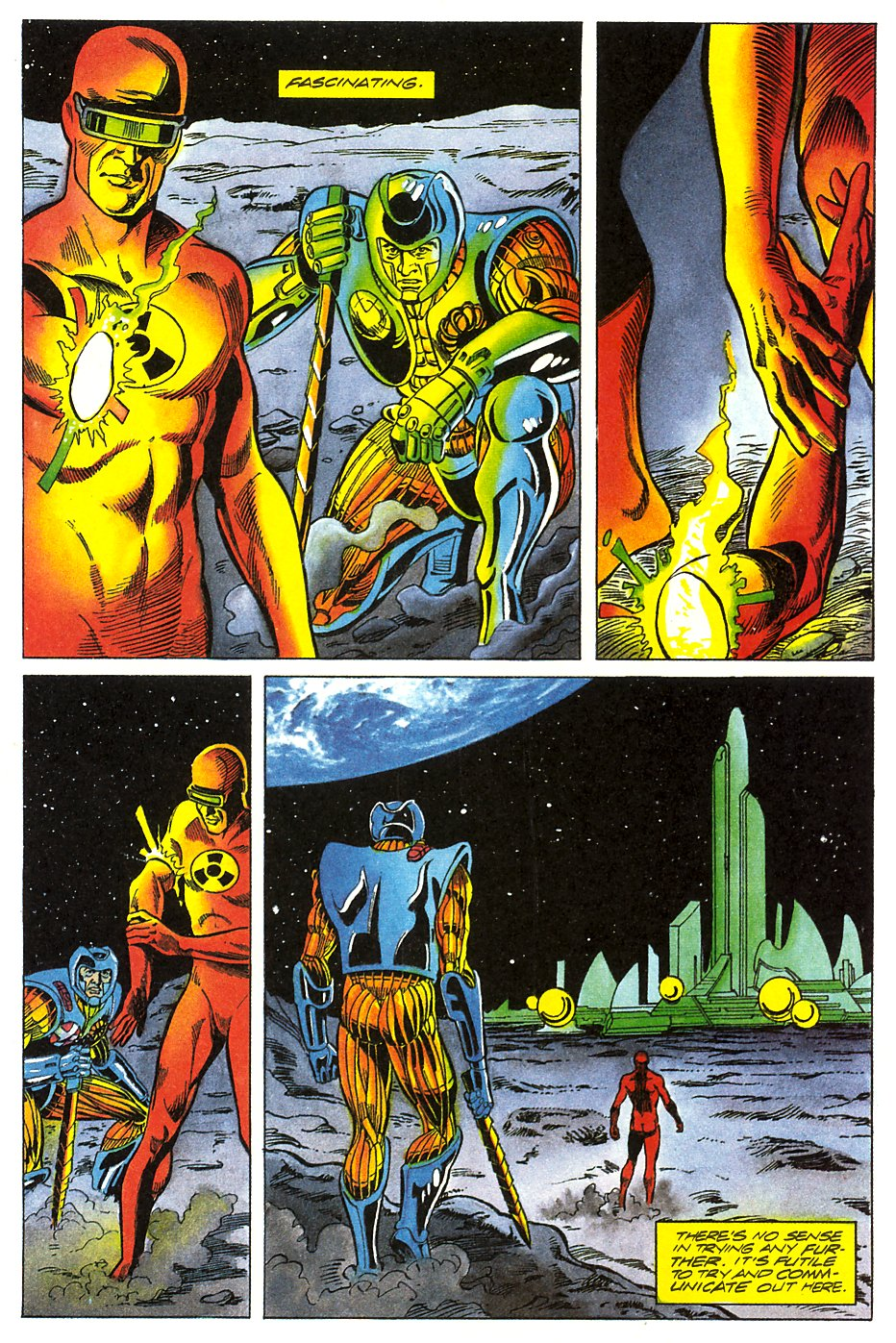 Read online Solar, Man of the Atom comic -  Issue #17 - 23