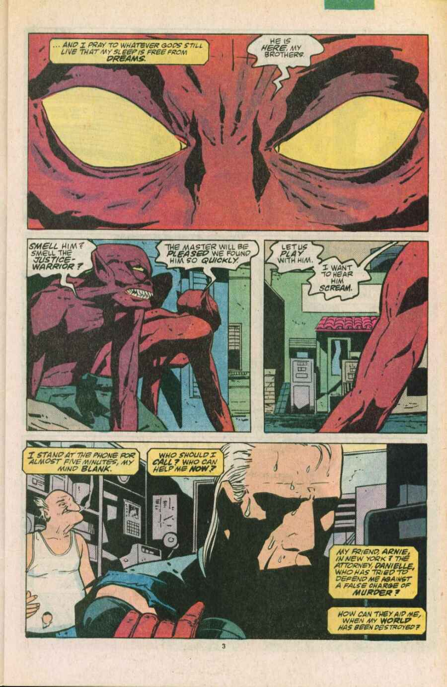 Read online Justice (1986) comic -  Issue #11 - 4
