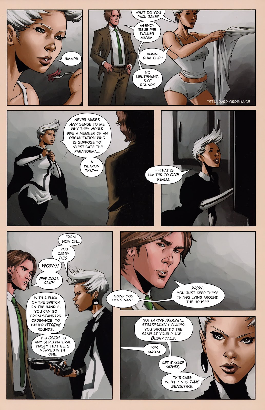 Read online Vescell comic -  Issue #3 - 13
