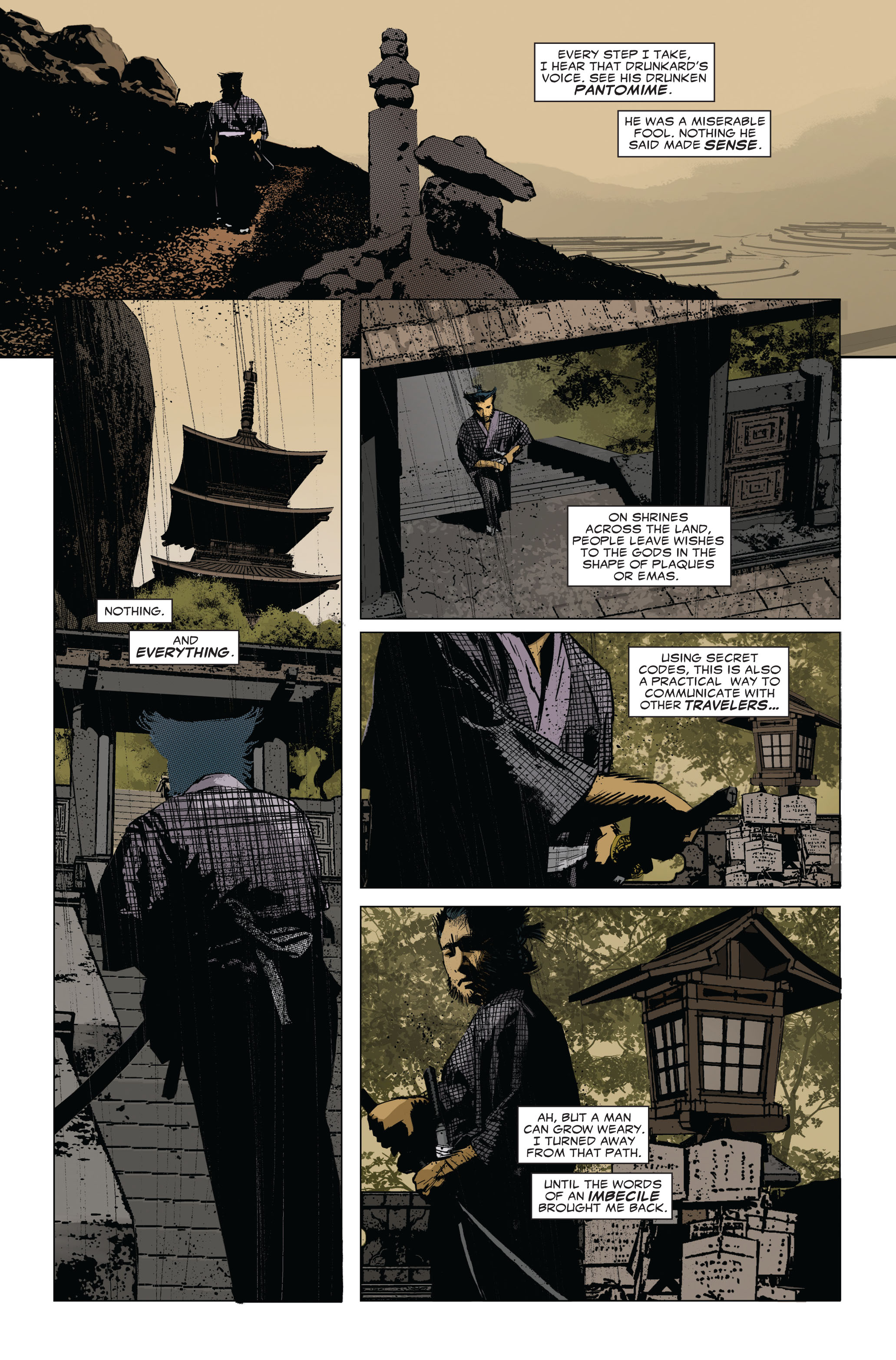 Read online 5 Ronin (2011) comic -  Issue #1 - 15