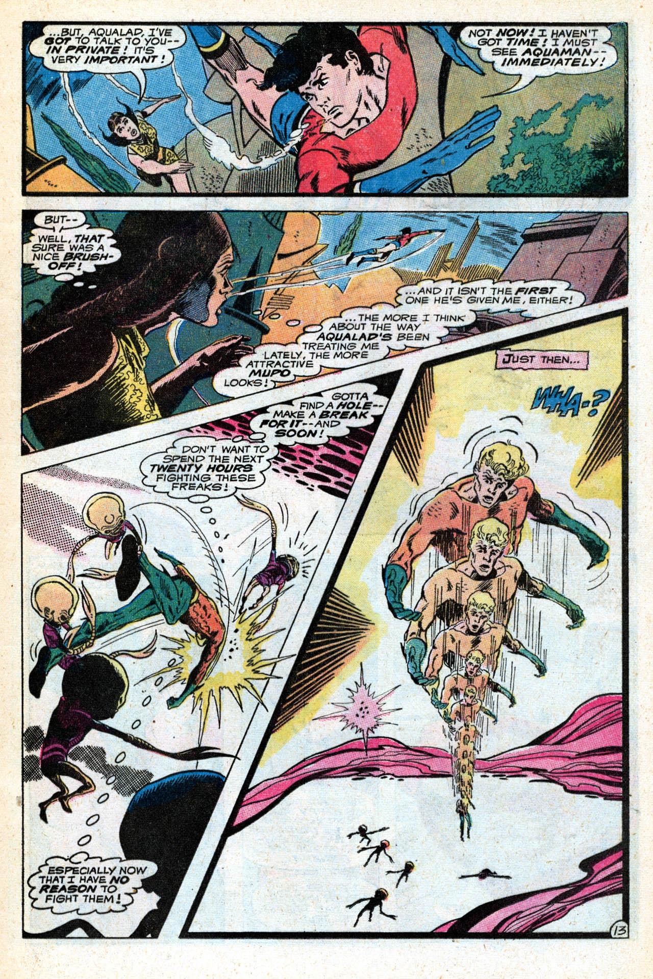 Read online Aquaman (1962) comic -  Issue #55 - 17