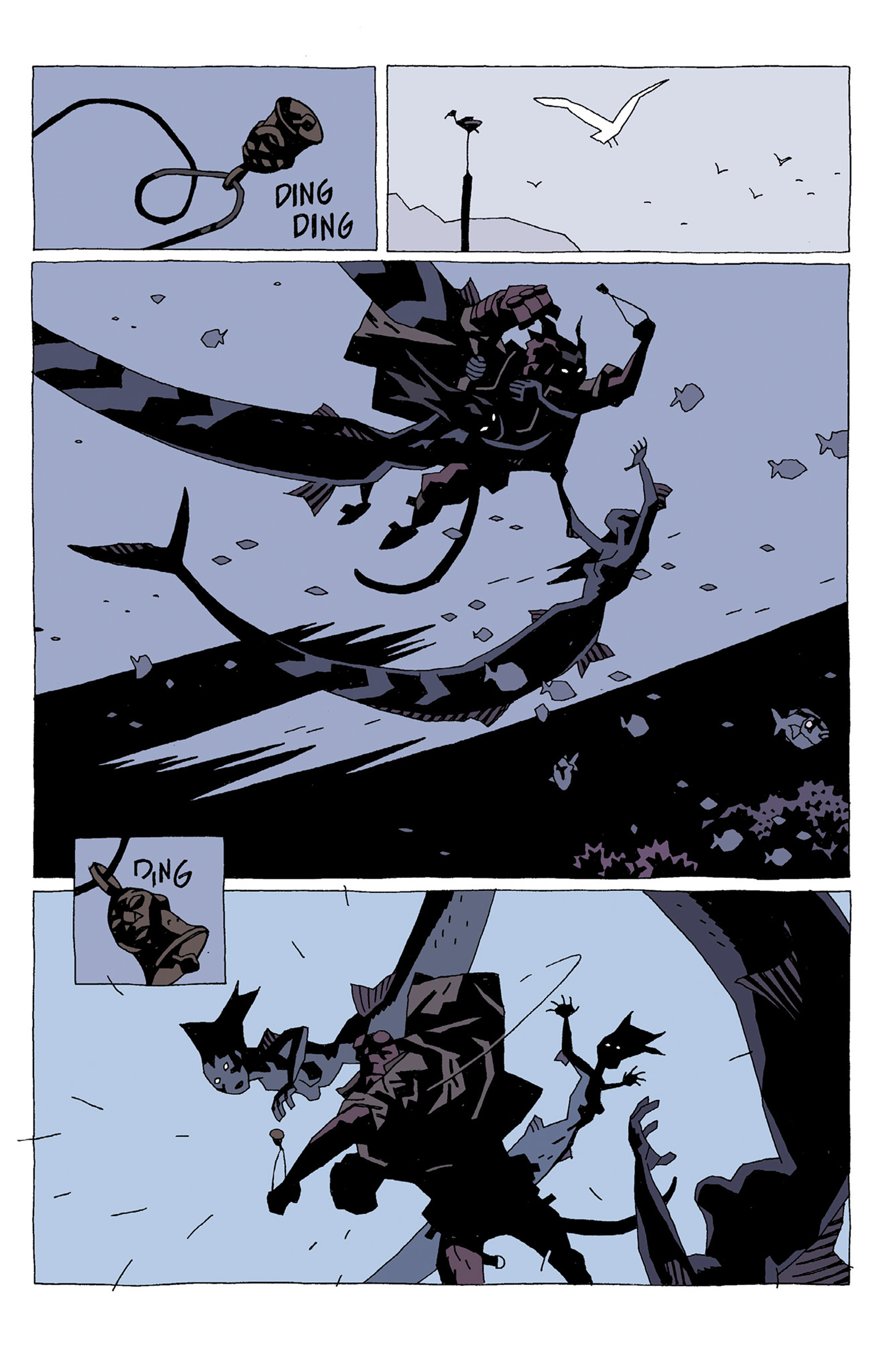 Read online Hellboy: Strange Places comic -  Issue # TPB - 21