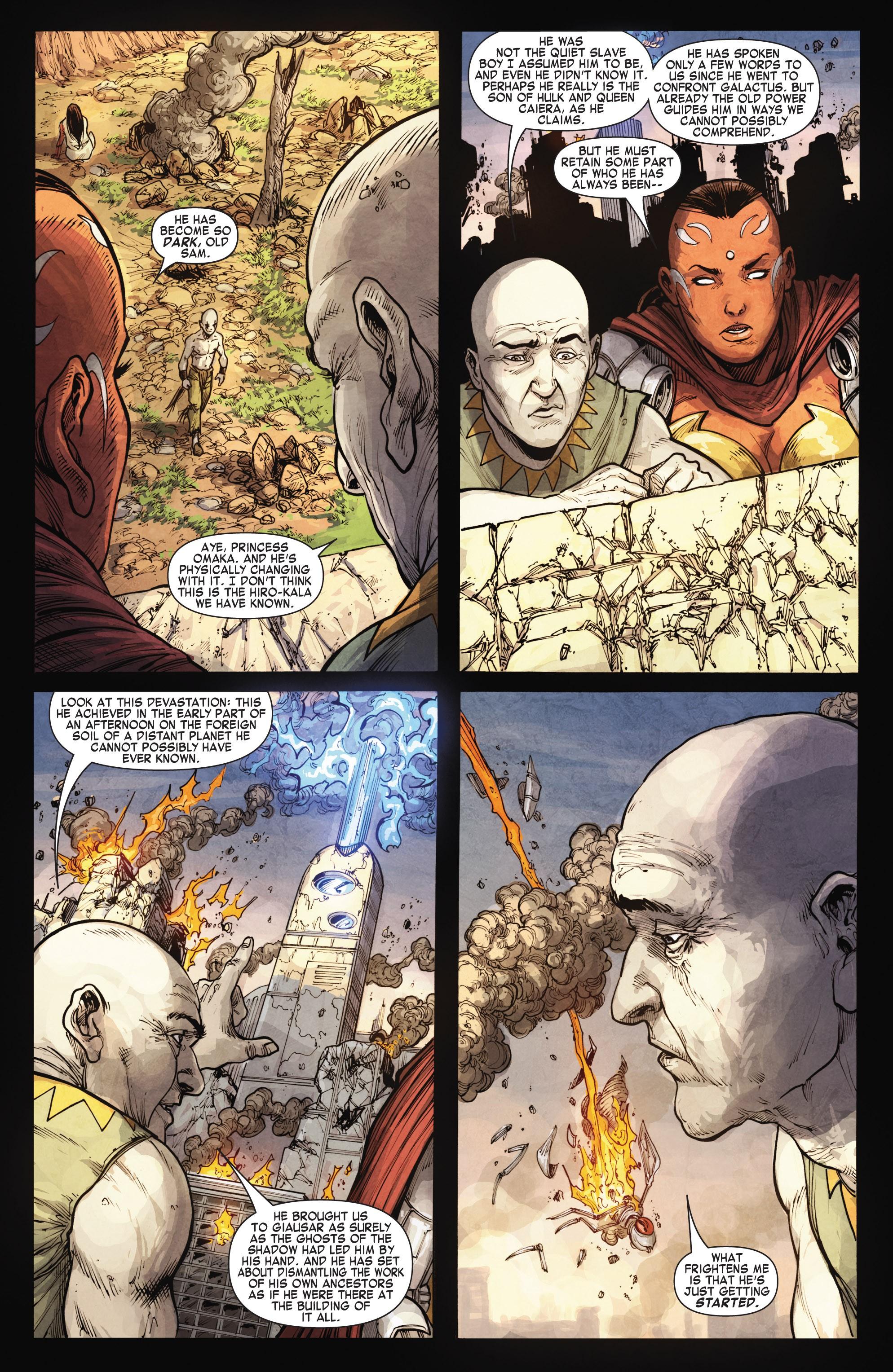 Read online Skaar: Son of Hulk comic -  Issue #15 - 14
